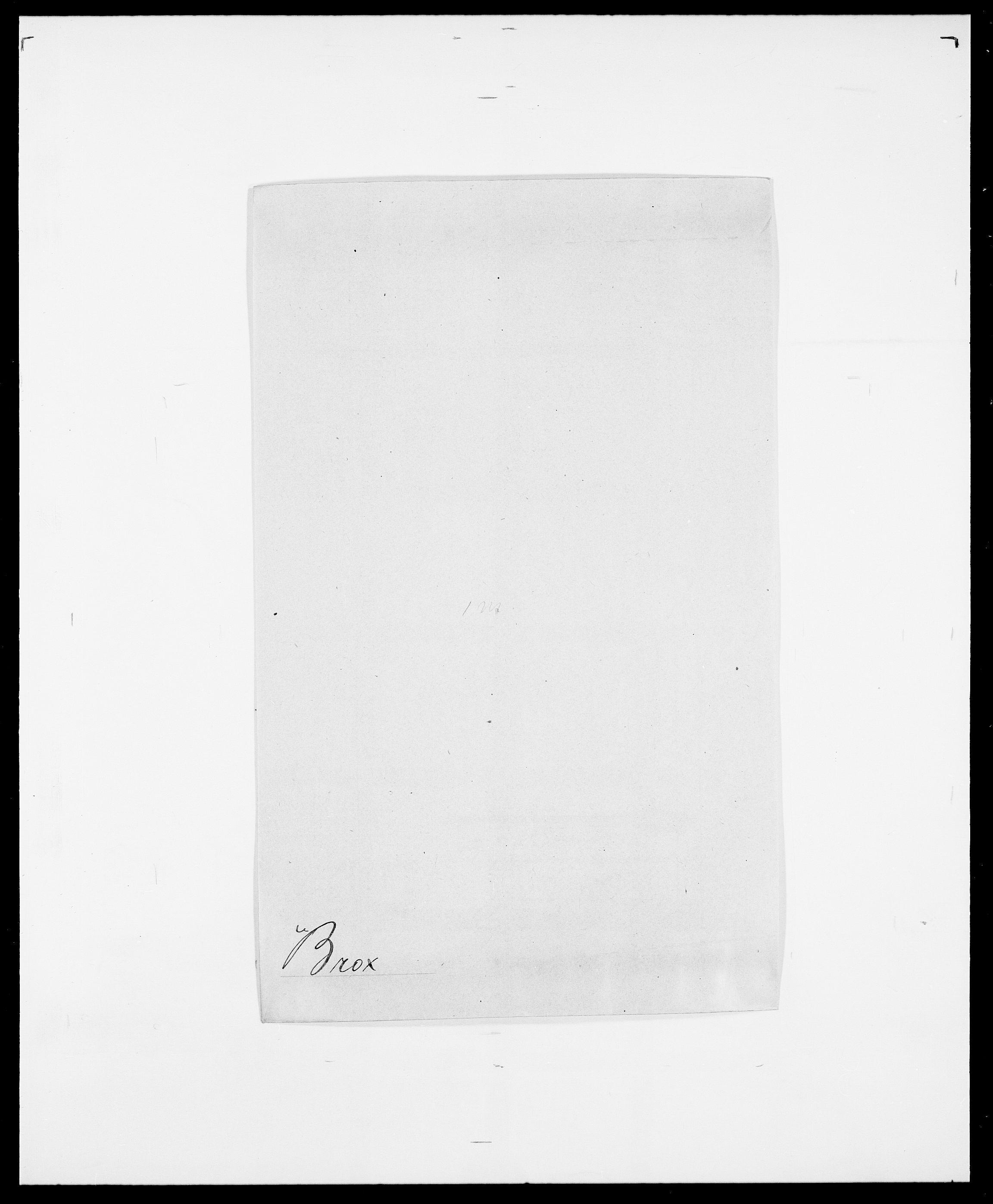SAO, Delgobe, Charles Antoine - samling, D/Da/L0006: Brambani - Brønø, s. 555
