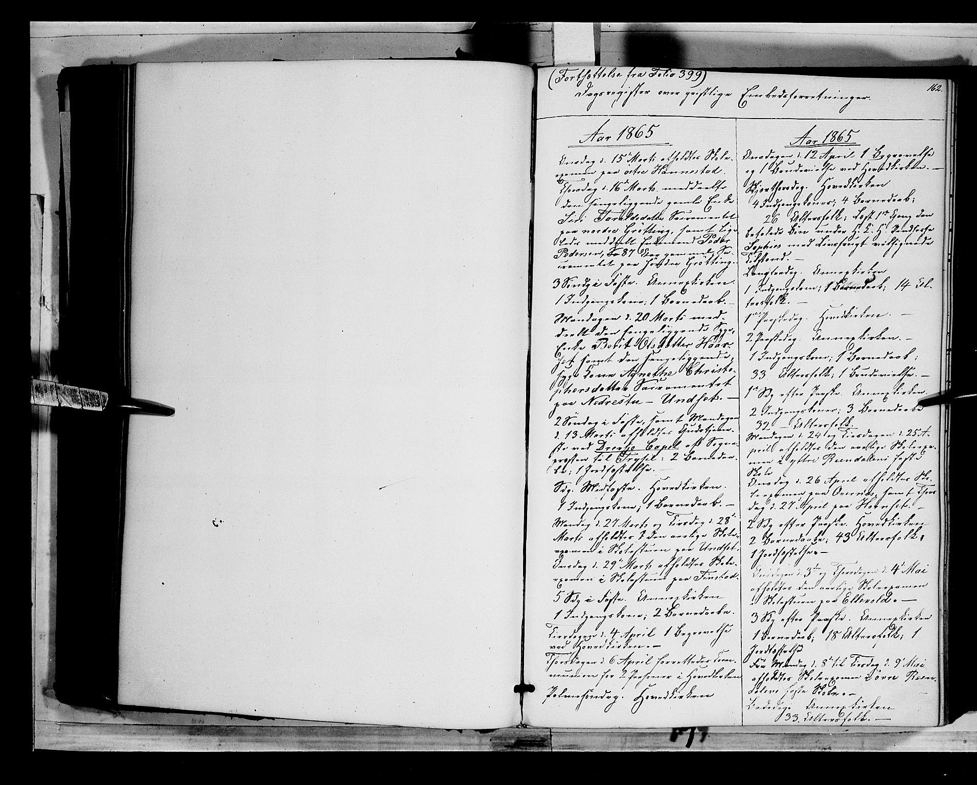 SAH, Rendalen prestekontor, H/Ha/Haa/L0005: Ministerialbok nr. 5, 1853-1866, s. 162