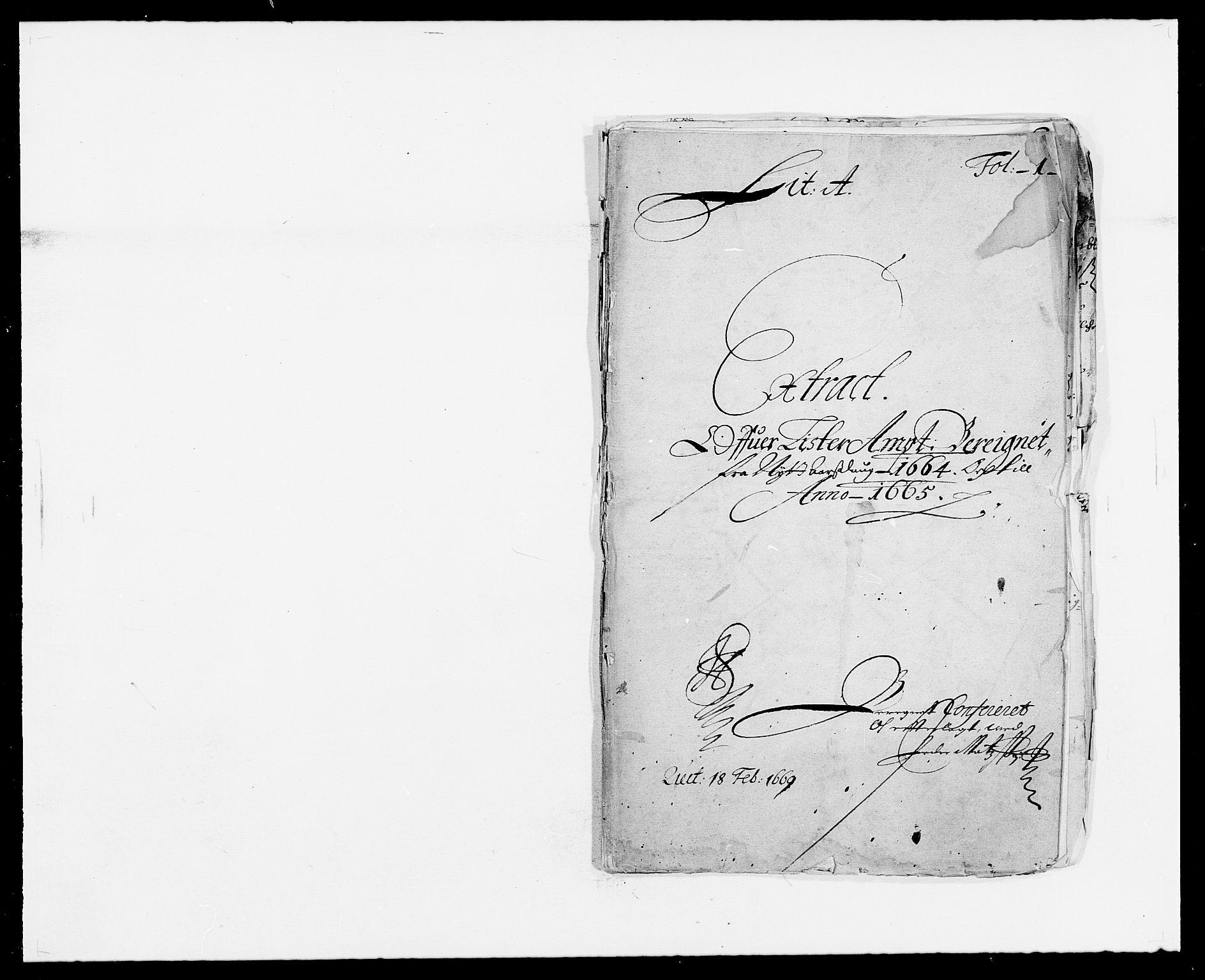 RA, Rentekammeret inntil 1814, Reviderte regnskaper, Fogderegnskap, R41/L2523: Fogderegnskap Lista, 1663-1664, s. 202