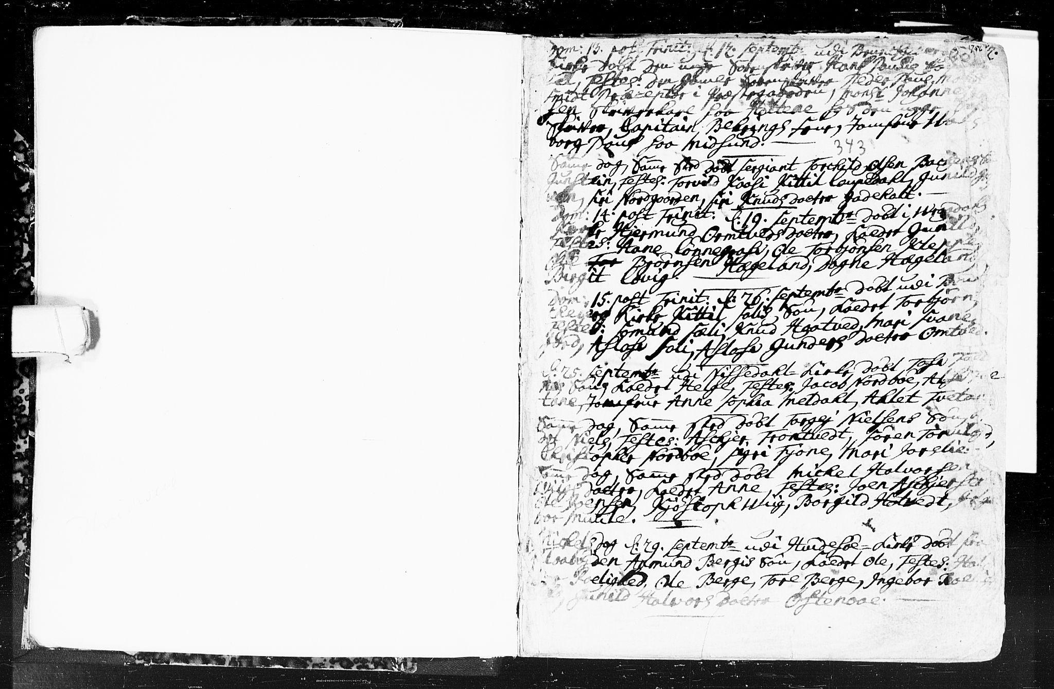 SAKO, Kviteseid kirkebøker, F/Fa/L0001: Ministerialbok nr. I 1, 1754-1773, s. 19-20