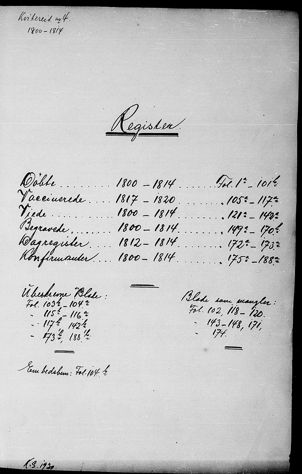 SAKO, Kviteseid kirkebøker, F/Fa/L0004: Ministerialbok nr. I 4, 1800-1814