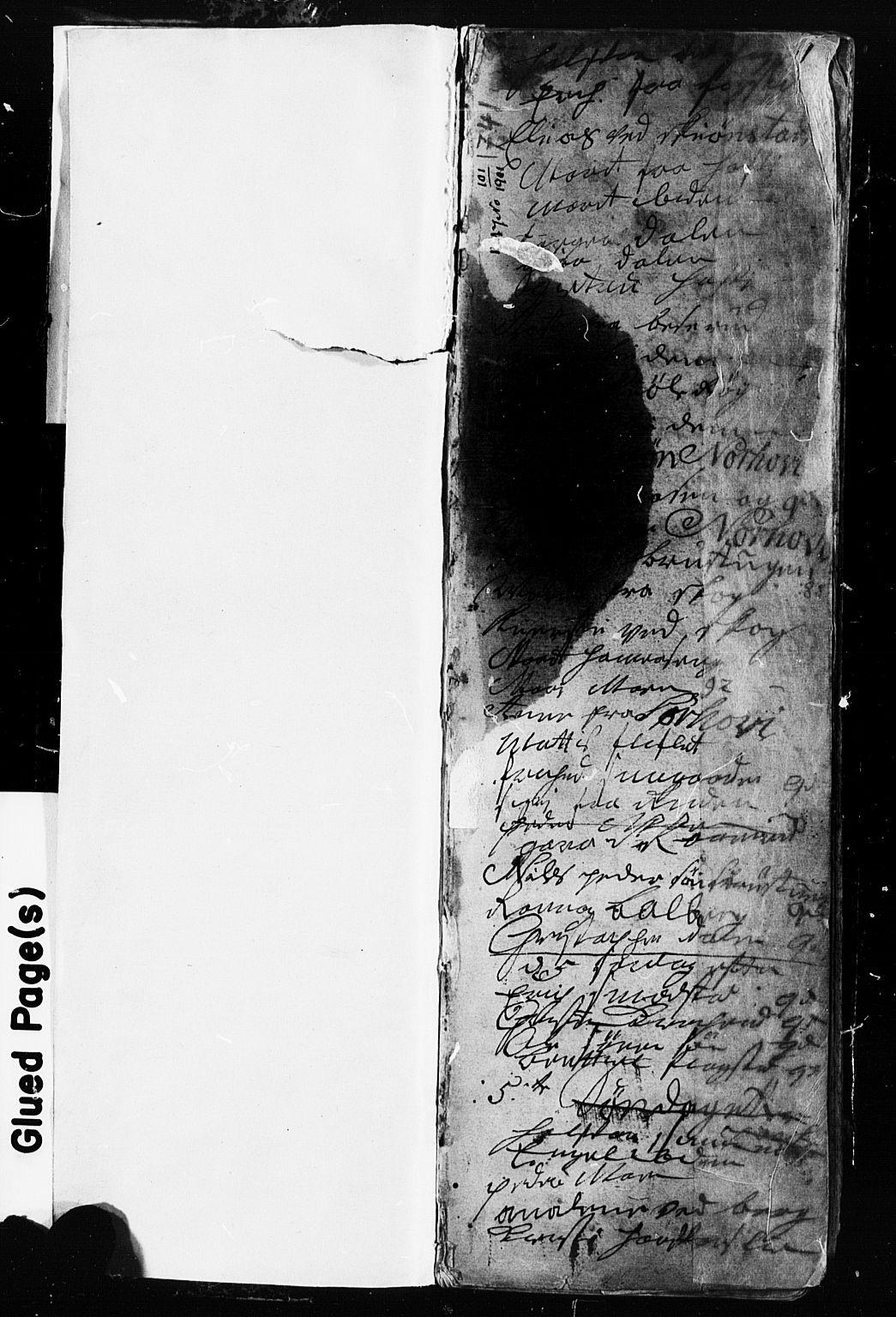 SAH, Fåberg prestekontor, Klokkerbok nr. 2, 1741-1756, s. 0-1