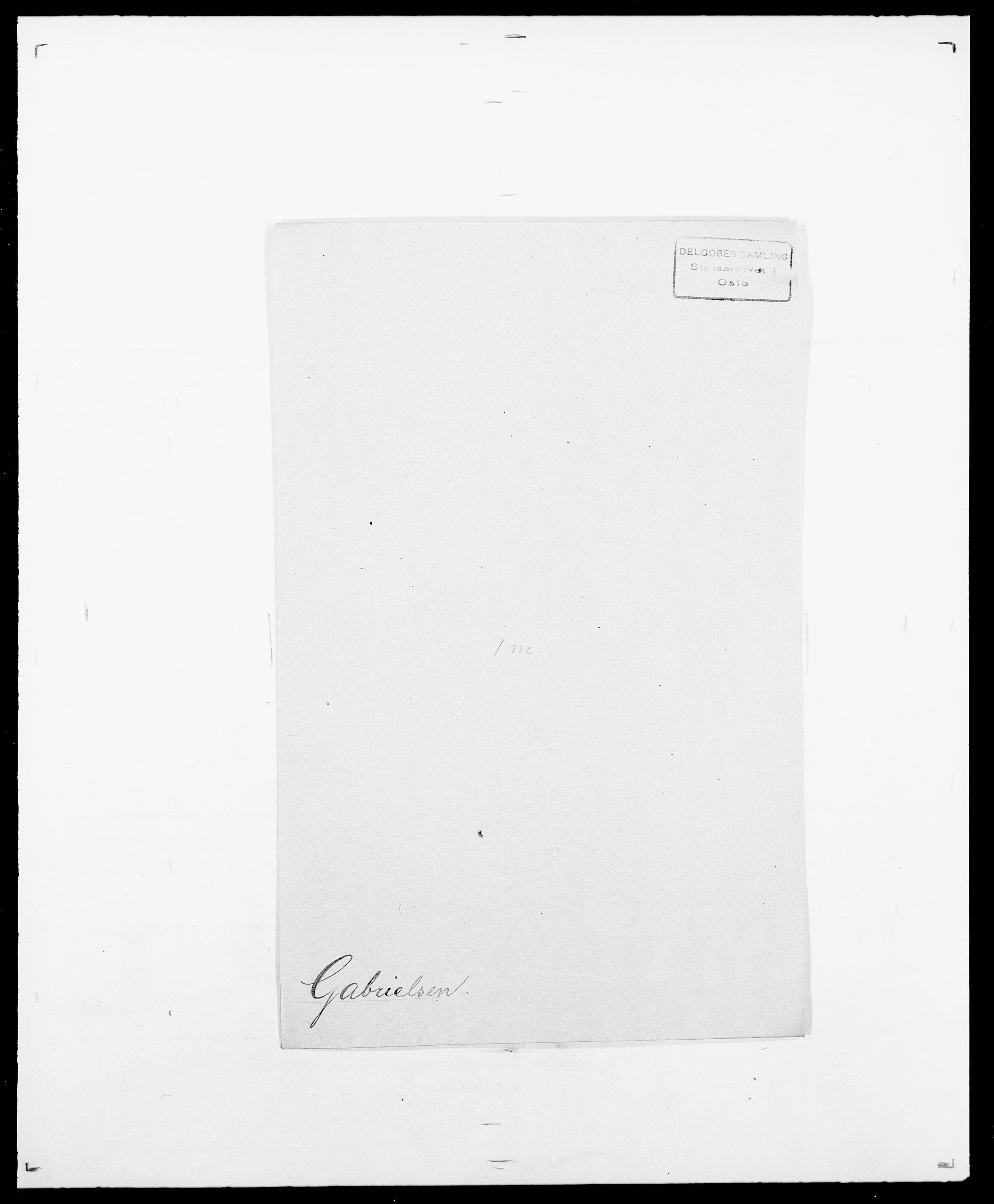 SAO, Delgobe, Charles Antoine - samling, D/Da/L0013: Forbos - Geving, s. 364