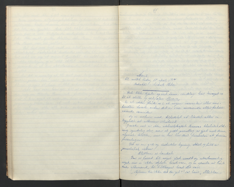 RA, Det Norske Studentersamfund, X/Xa/L0018, 1907-1915, s. 48