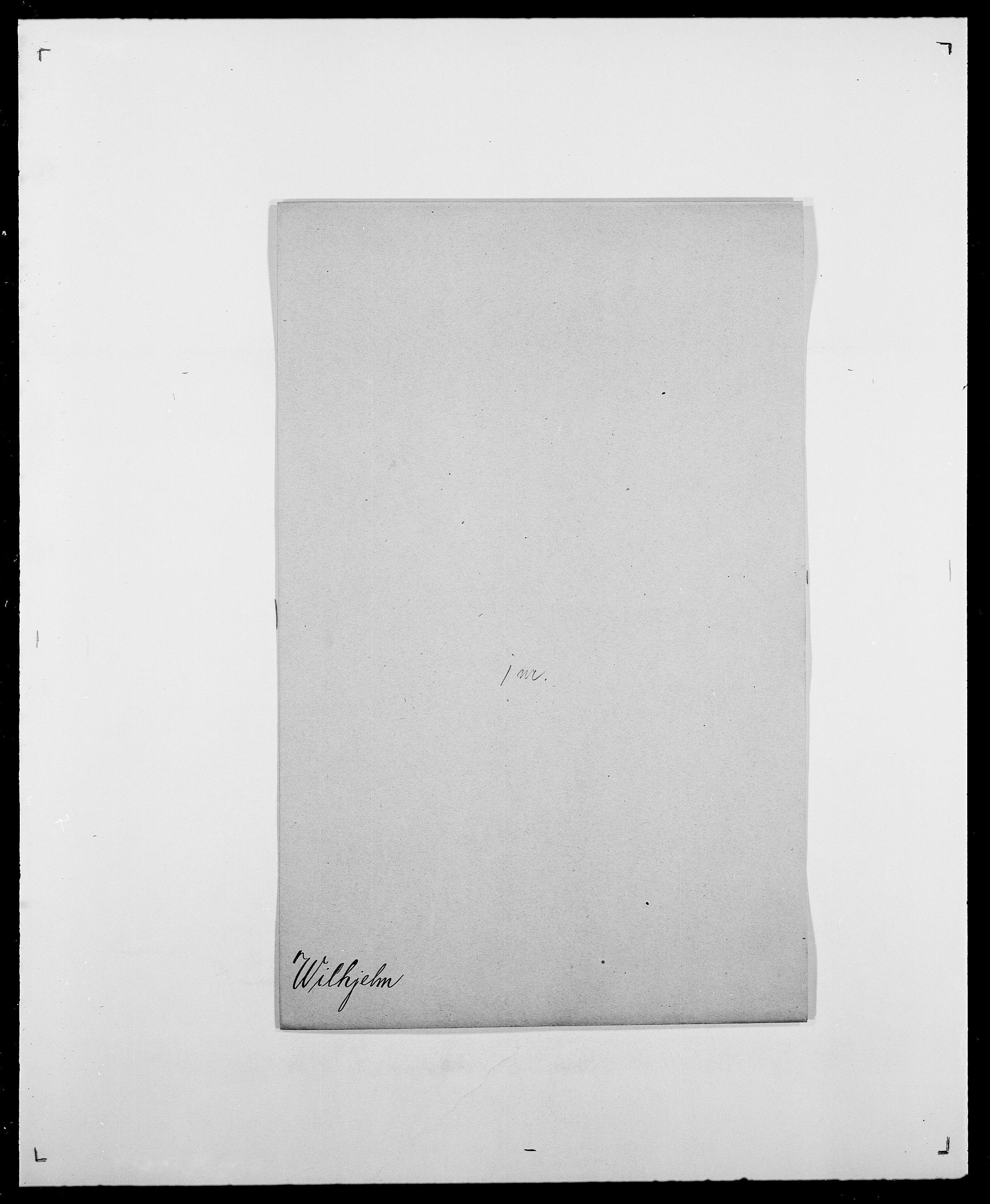 SAO, Delgobe, Charles Antoine - samling, D/Da/L0042: Vilain - Wulf, Wulff, se også Wolf, s. 55