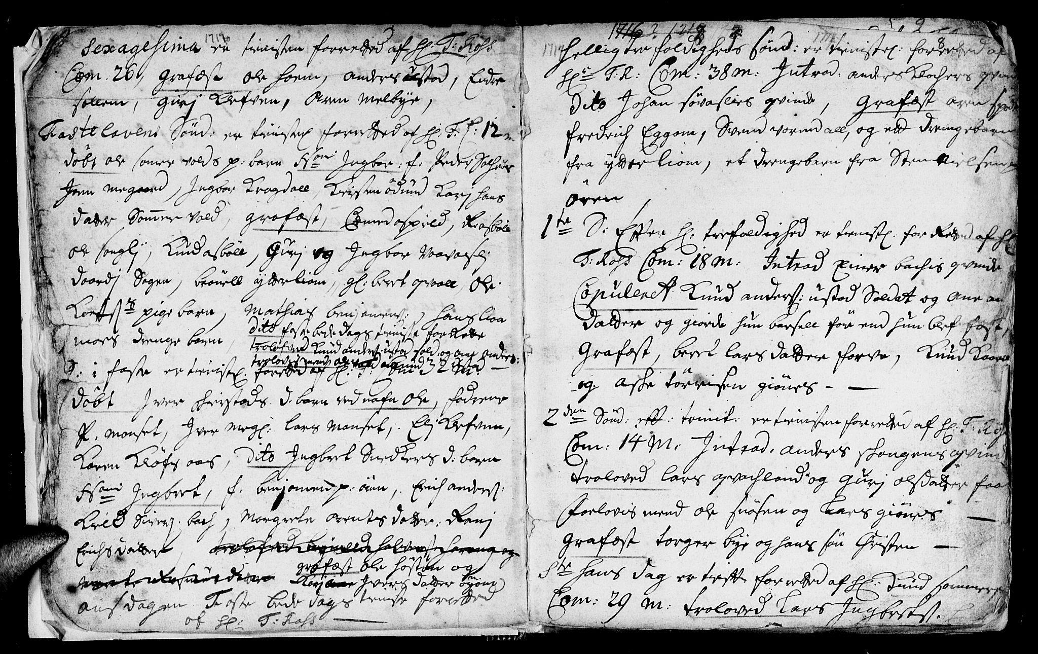 SAT, Ministerialprotokoller, klokkerbøker og fødselsregistre - Sør-Trøndelag, 668/L0812: Klokkerbok nr. 668C01, 1715-1742, s. 8
