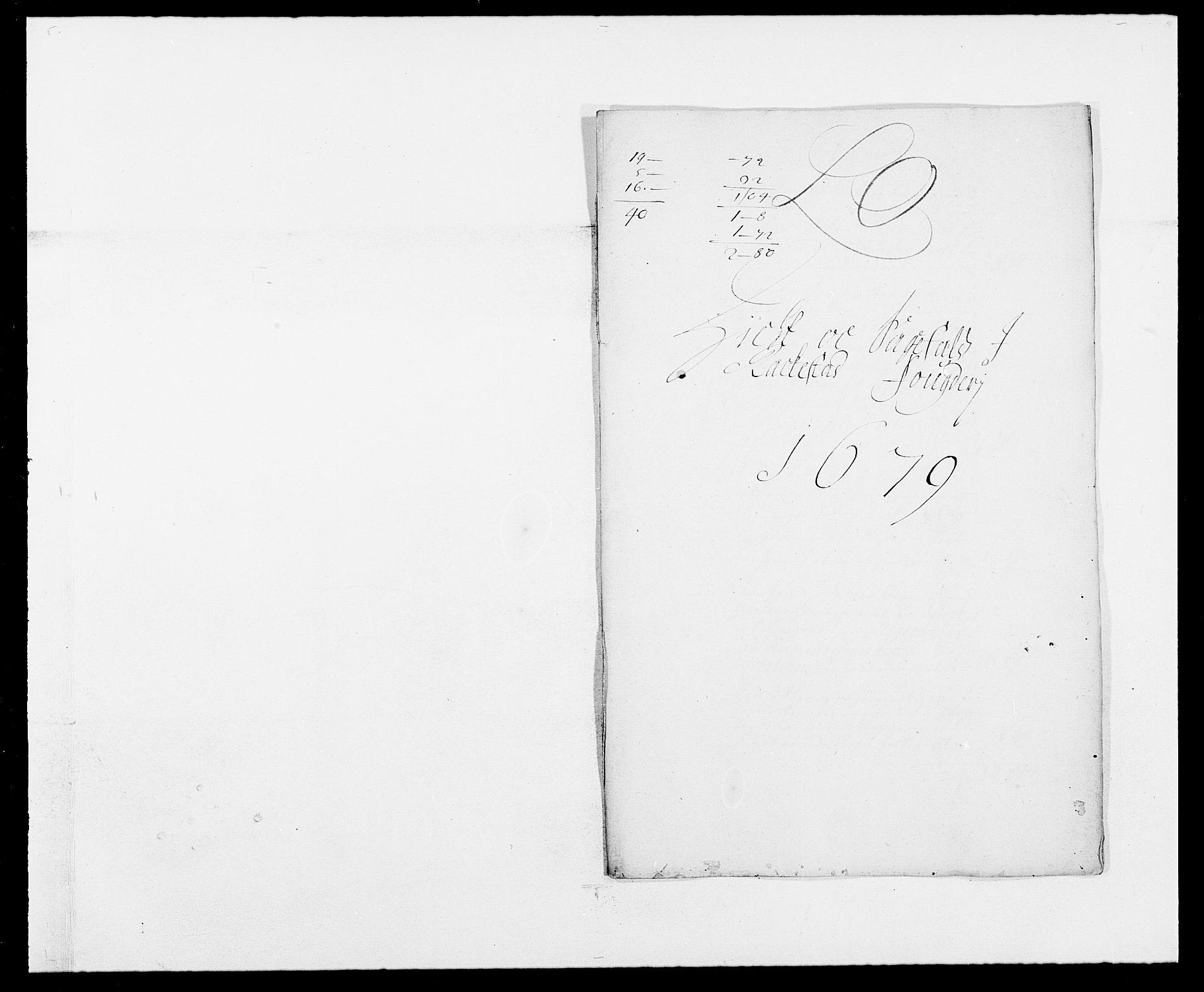 RA, Rentekammeret inntil 1814, Reviderte regnskaper, Fogderegnskap, R05/L0271: Fogderegnskap Rakkestad, 1678-1679, s. 300