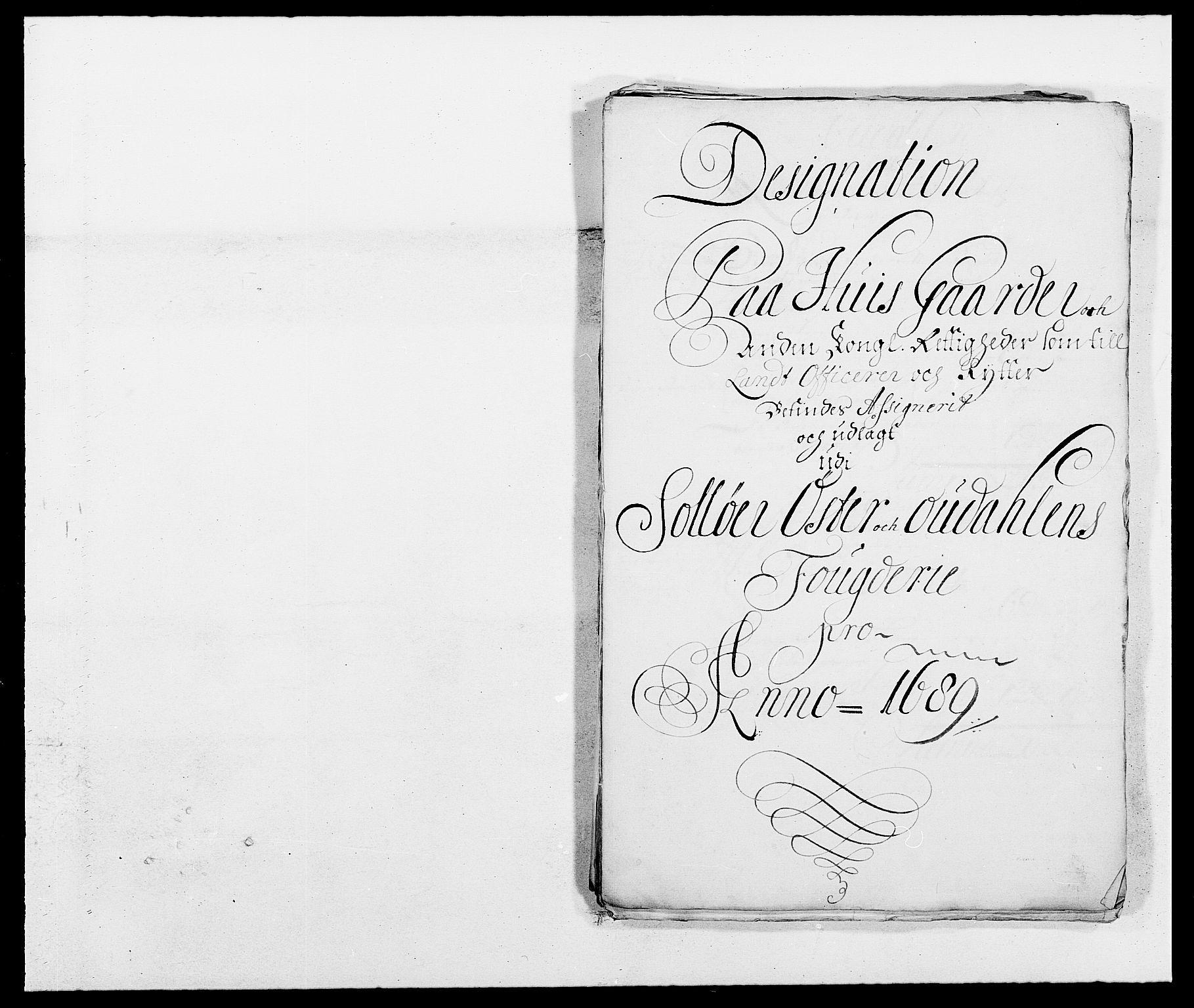 RA, Rentekammeret inntil 1814, Reviderte regnskaper, Fogderegnskap, R13/L0827: Fogderegnskap Solør, Odal og Østerdal, 1689, s. 354