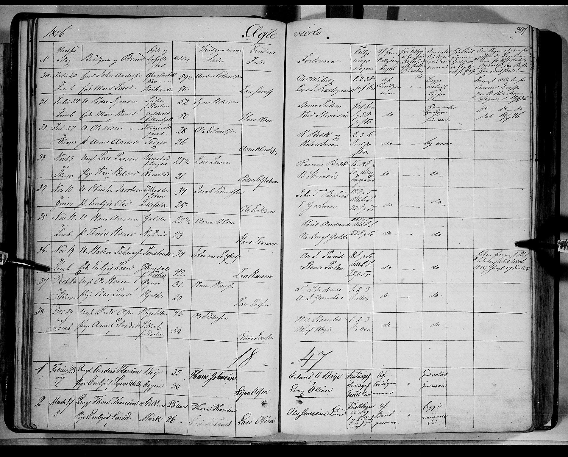 SAH, Lom prestekontor, K/L0006: Ministerialbok nr. 6B, 1837-1863, s. 397