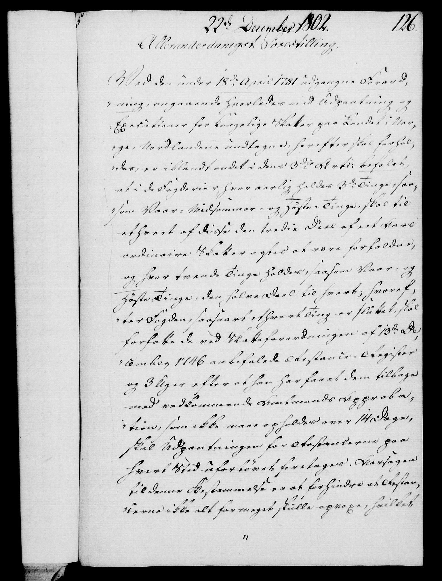 RA, Rentekammeret, Kammerkanselliet, G/Gf/Gfa/L0084: Norsk relasjons- og resolusjonsprotokoll (merket RK 52.84), 1802, s. 774
