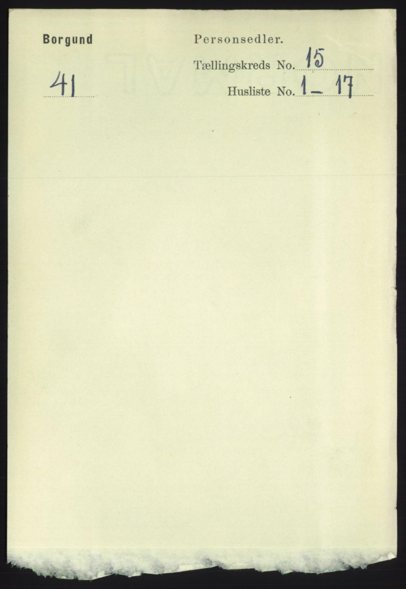 RA, Folketelling 1891 for 1531 Borgund herred, 1891, s. 4477