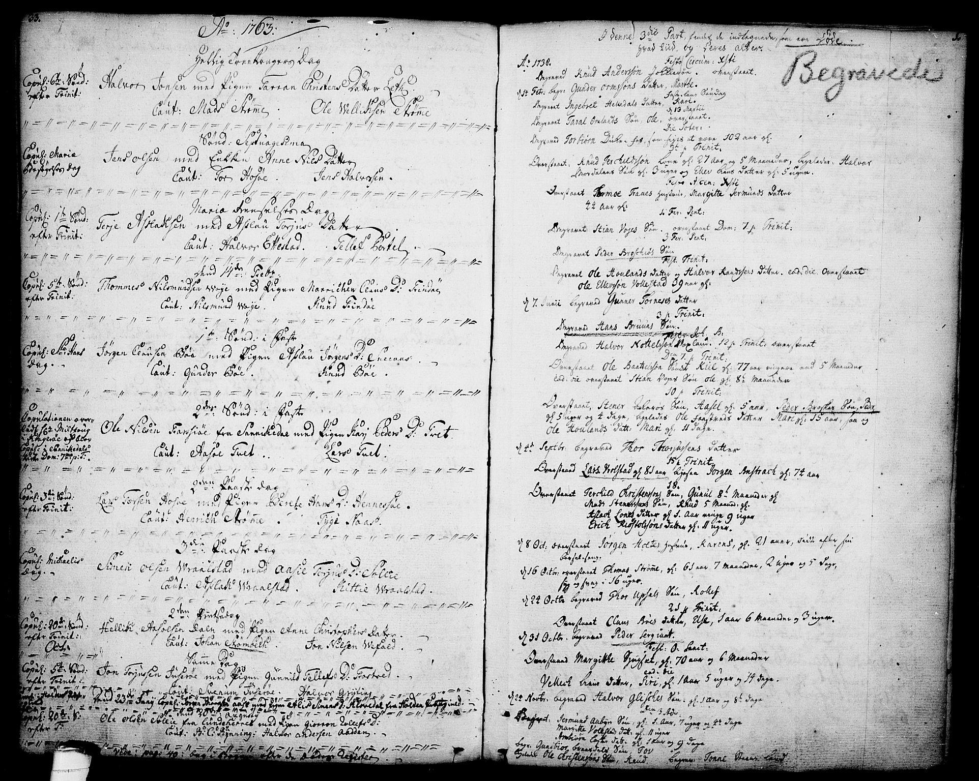 SAKO, Drangedal kirkebøker, F/Fa/L0001: Ministerialbok nr. 1, 1697-1767, s. 33-34