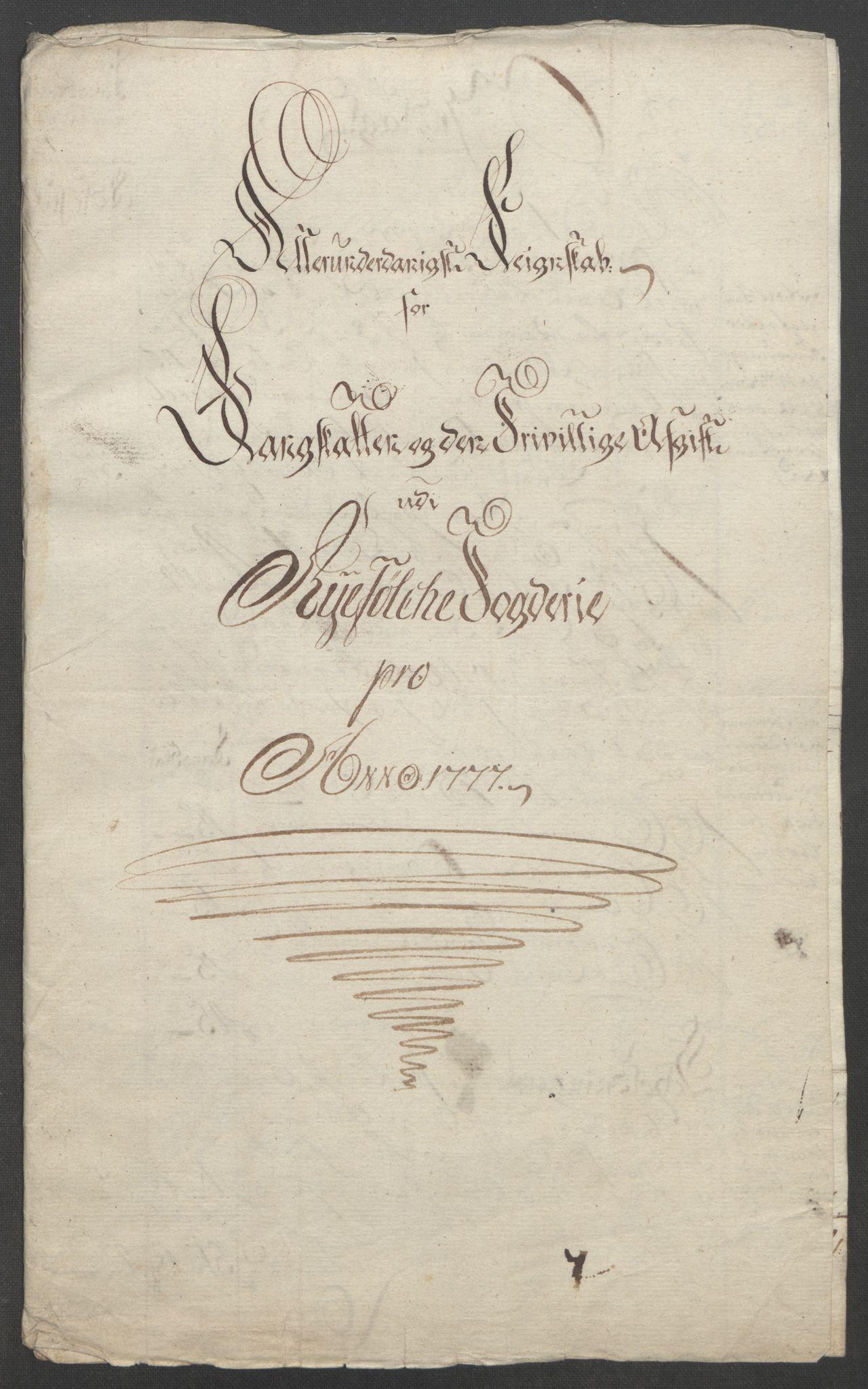 RA, Rentekammeret inntil 1814, Reviderte regnskaper, Fogderegnskap, R47/L2972: Ekstraskatten Ryfylke, 1762-1780, s. 583