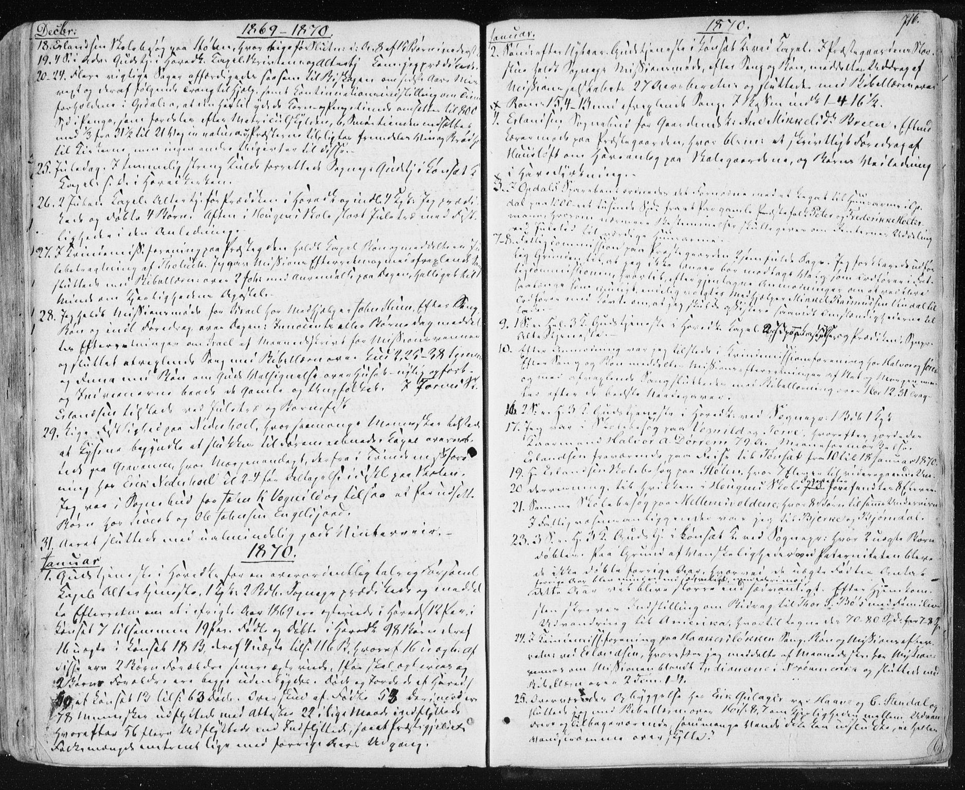 SAT, Ministerialprotokoller, klokkerbøker og fødselsregistre - Sør-Trøndelag, 678/L0899: Ministerialbok nr. 678A08, 1848-1872, s. 716