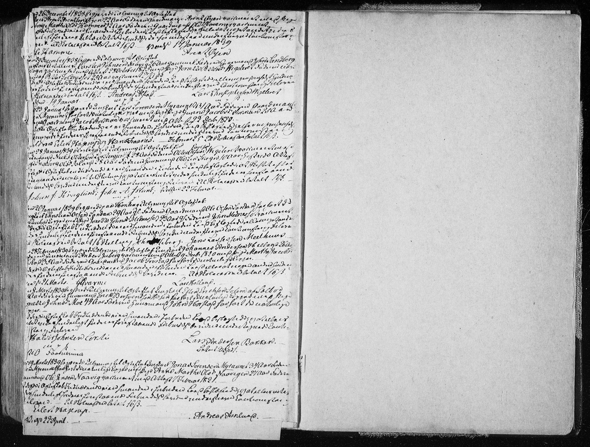 SAT, Ministerialprotokoller, klokkerbøker og fødselsregistre - Nord-Trøndelag, 713/L0114: Ministerialbok nr. 713A05, 1827-1839, s. 18b