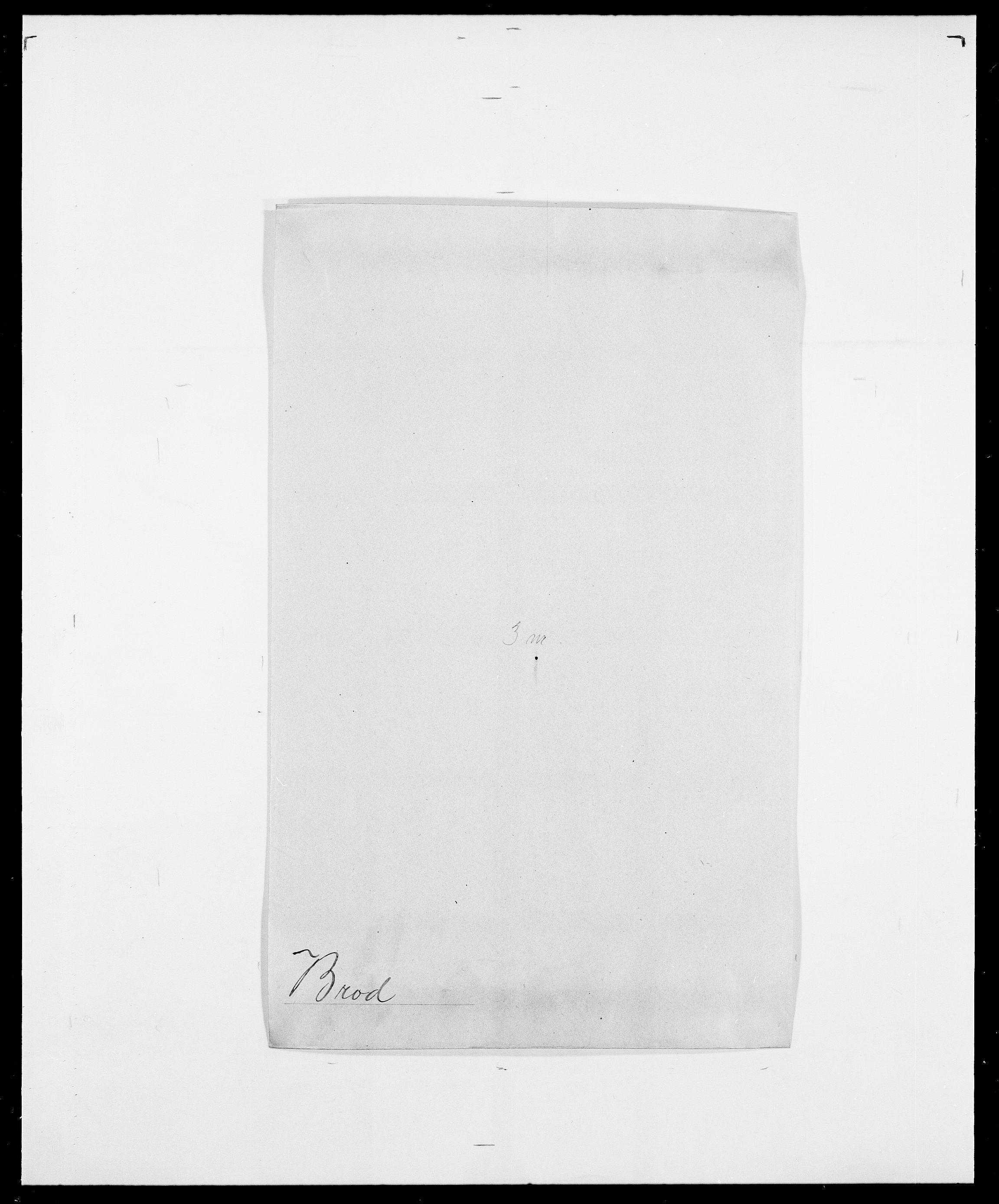 SAO, Delgobe, Charles Antoine - samling, D/Da/L0006: Brambani - Brønø, s. 490