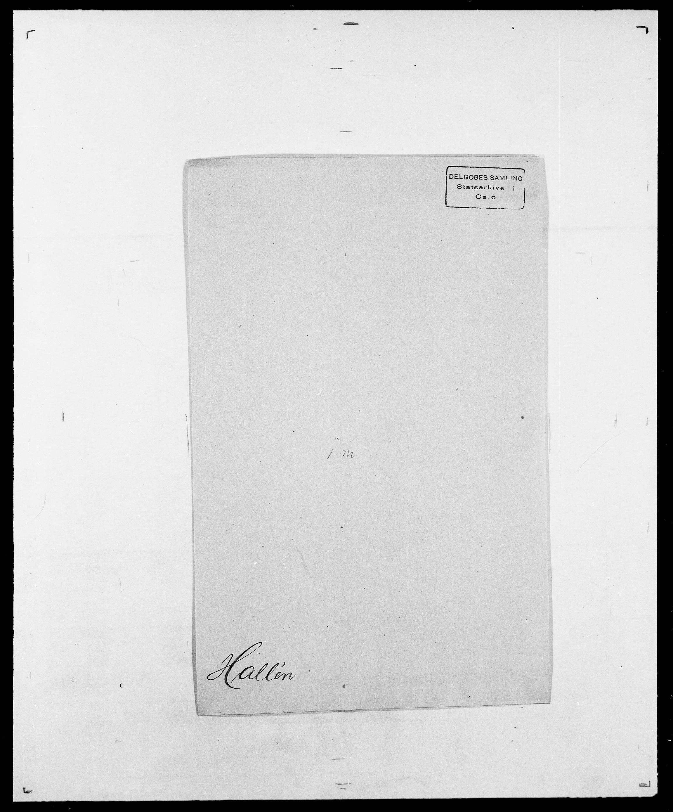 SAO, Delgobe, Charles Antoine - samling, D/Da/L0015: Grodtshilling - Halvorsæth, s. 774