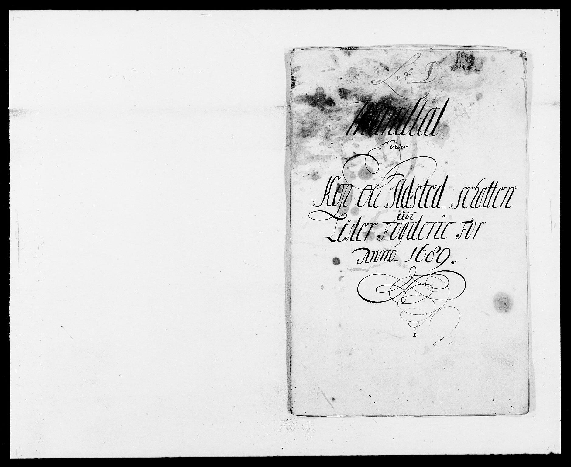RA, Rentekammeret inntil 1814, Reviderte regnskaper, Fogderegnskap, R41/L2535: Fogderegnskap Lista, 1686-1689, s. 21