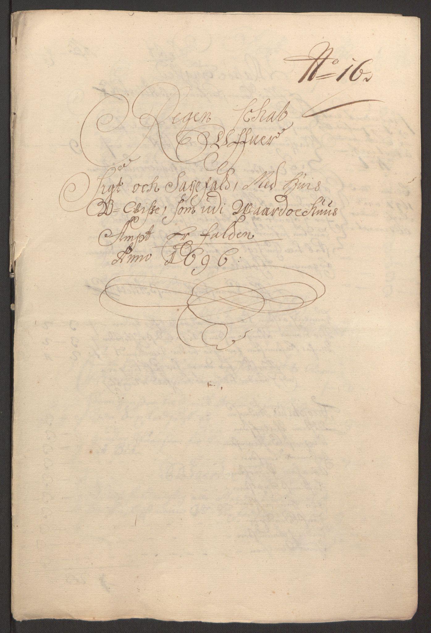 RA, Rentekammeret inntil 1814, Reviderte regnskaper, Fogderegnskap, R69/L4851: Fogderegnskap Finnmark/Vardøhus, 1691-1700, s. 264