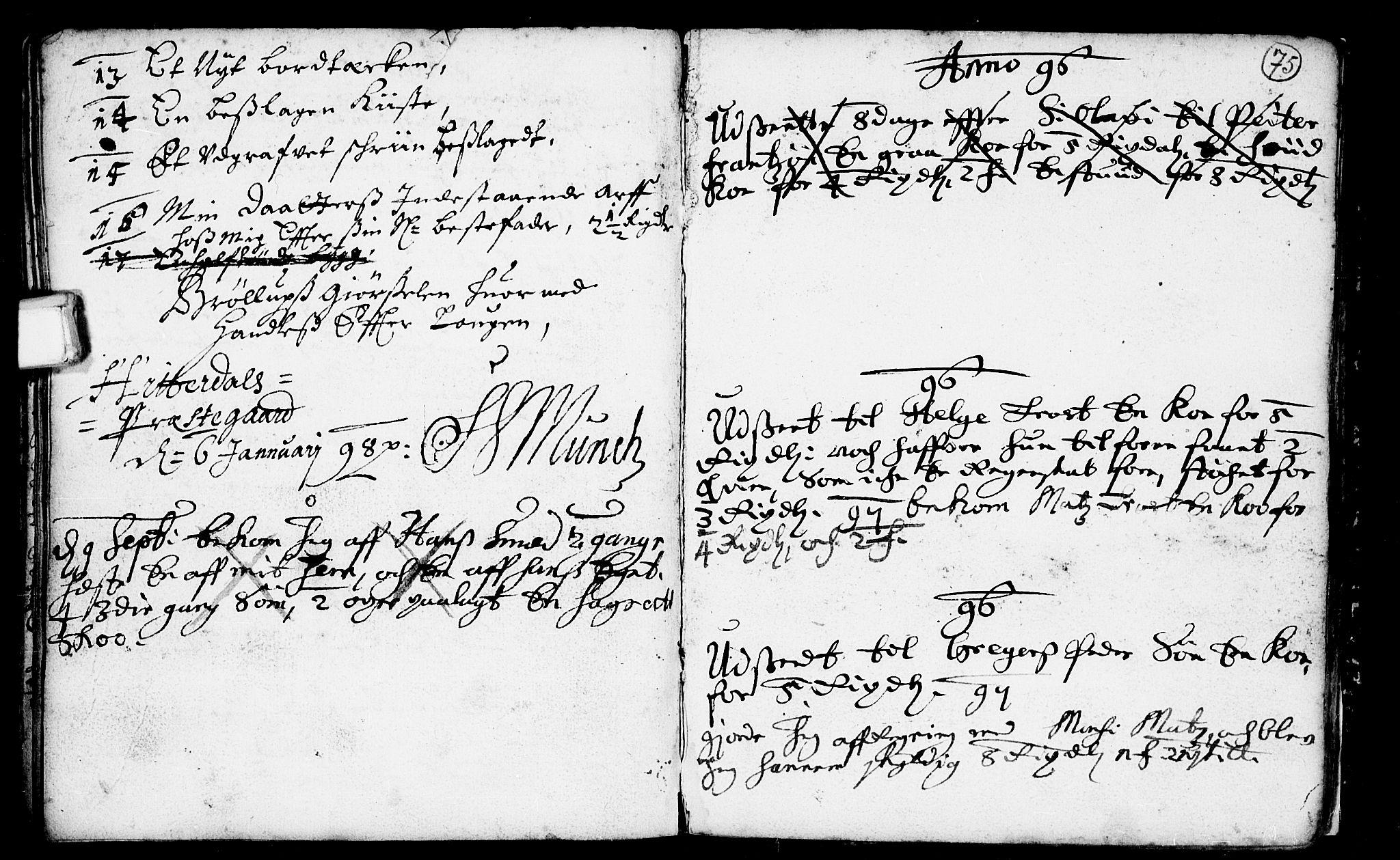 SAKO, Heddal kirkebøker, F/Fa/L0001: Ministerialbok nr. I 1, 1648-1699, s. 75