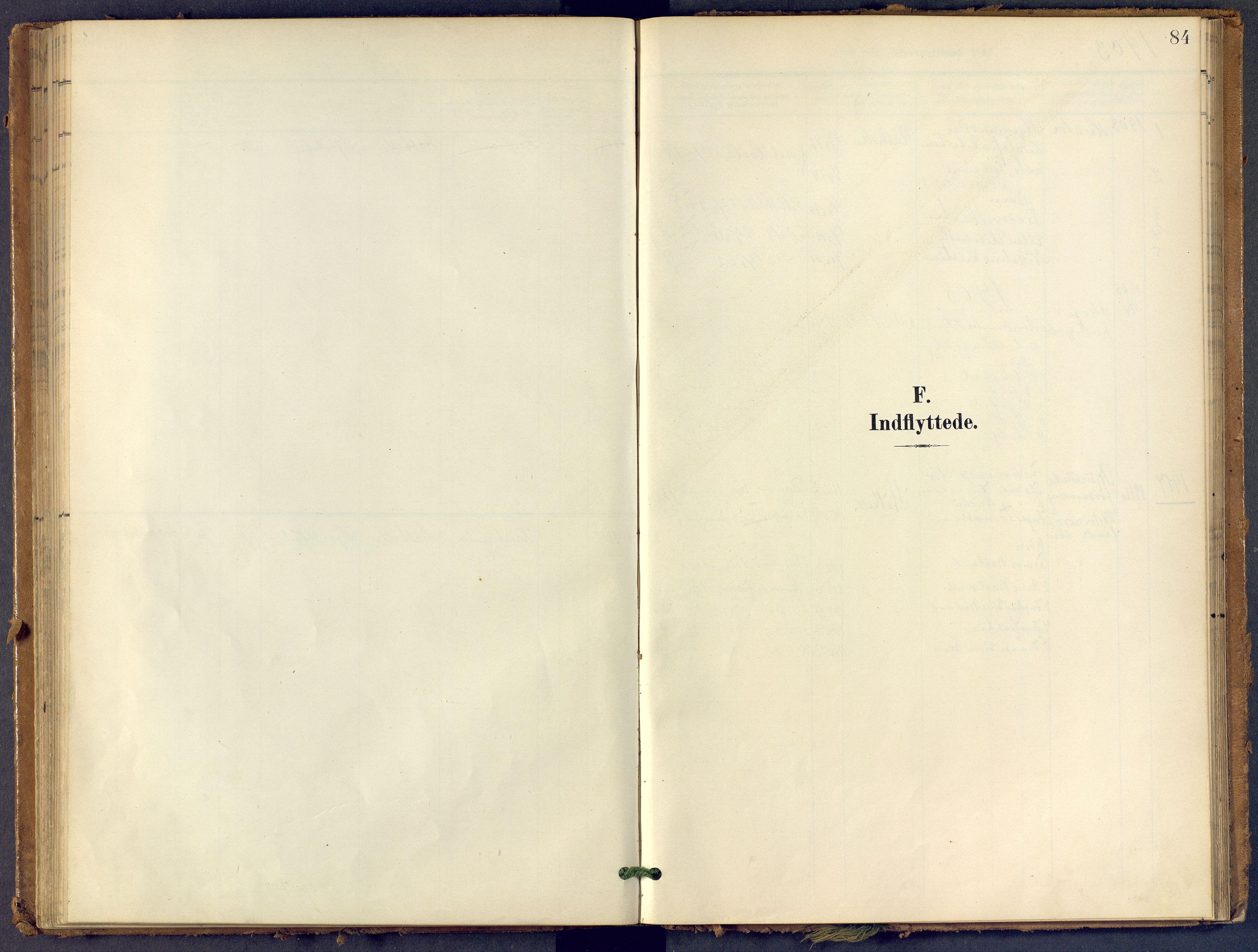 SAKO, Bamble kirkebøker, F/Fb/L0002: Ministerialbok nr. II 2, 1900-1921, s. 84