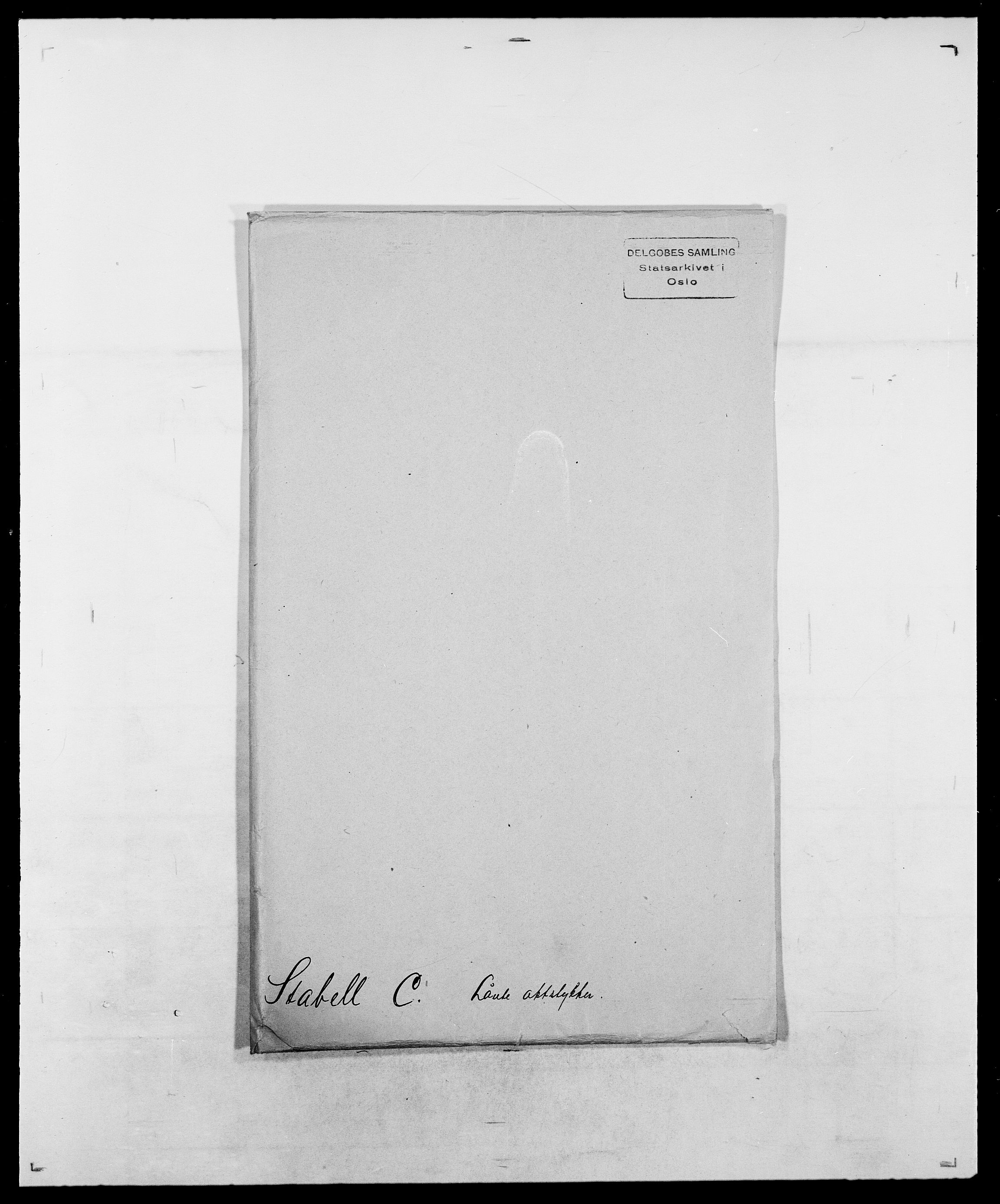 SAO, Delgobe, Charles Antoine - samling, D/Da/L0036: Skaanør - Staverskov, s. 781