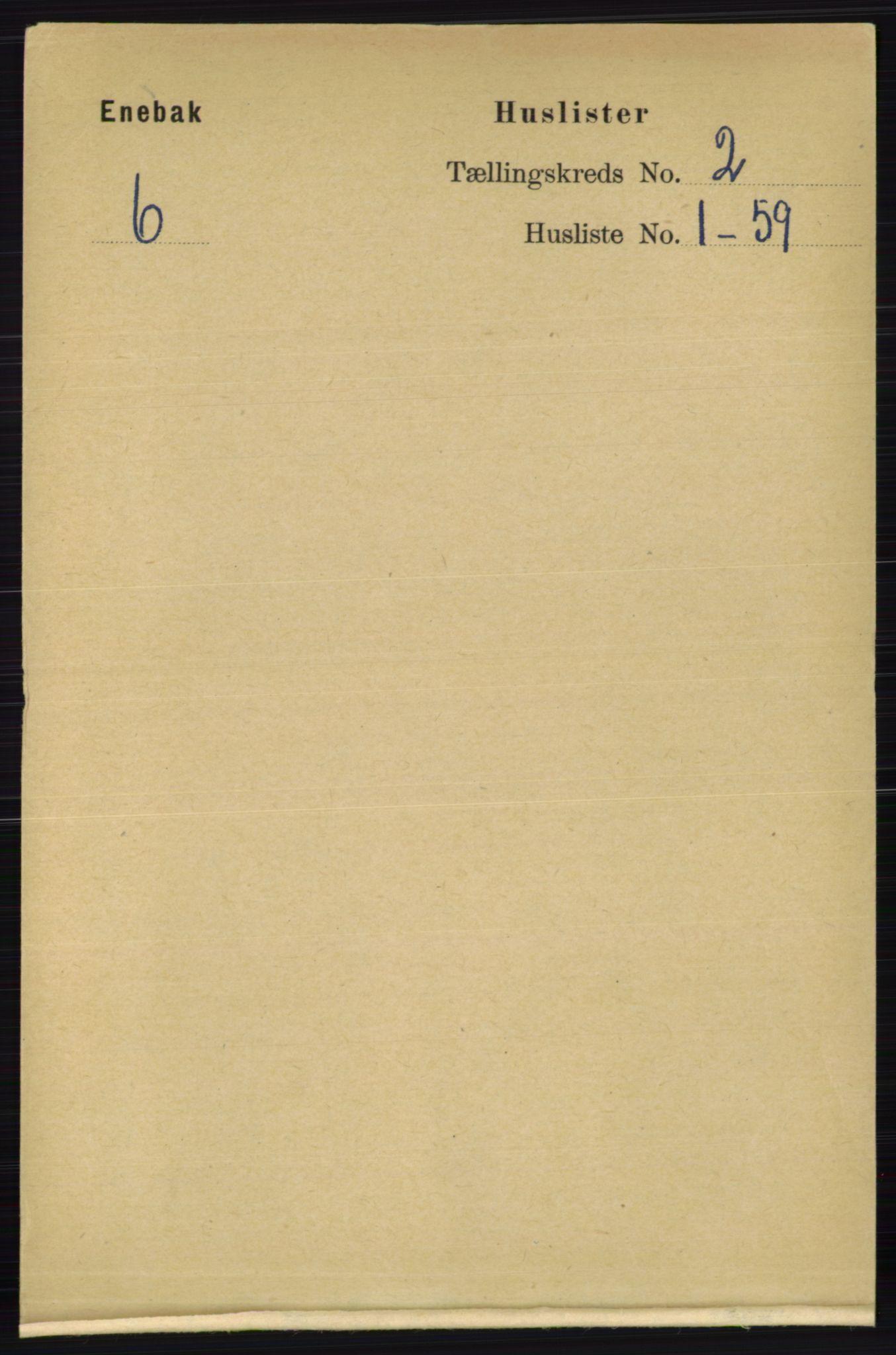 RA, Folketelling 1891 for 0229 Enebakk herred, 1891, s. 703