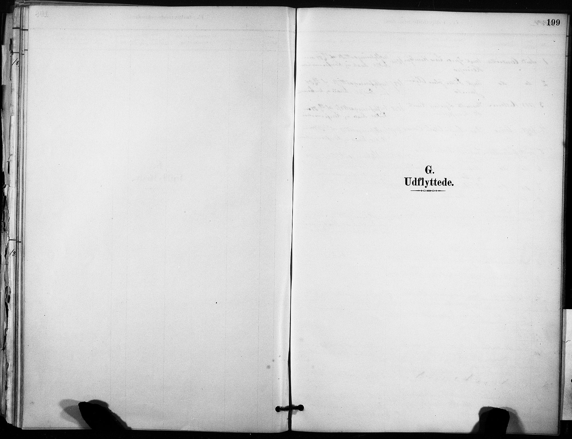 SAT, Ministerialprotokoller, klokkerbøker og fødselsregistre - Sør-Trøndelag, 633/L0518: Ministerialbok nr. 633A01, 1884-1906, s. 199