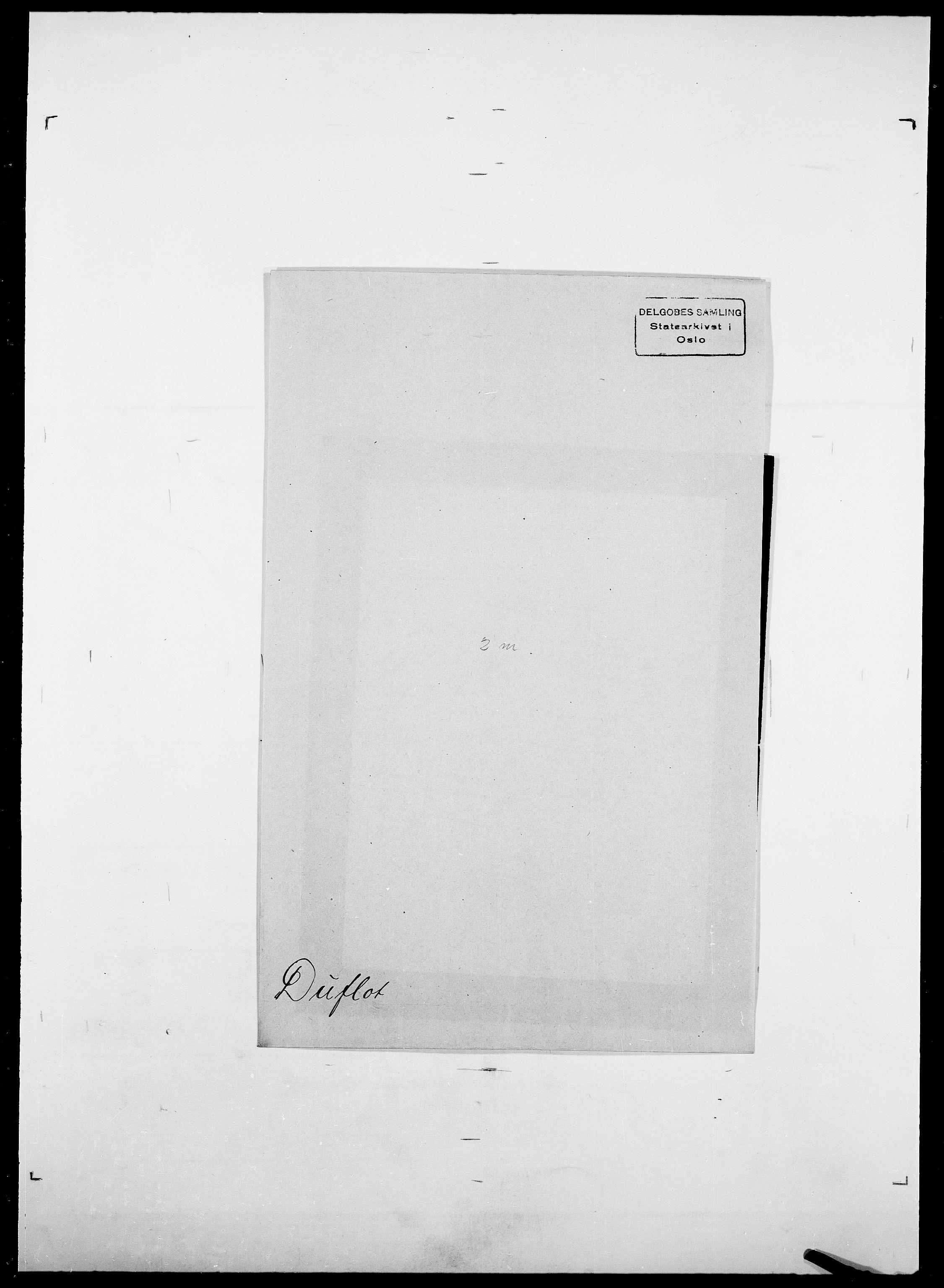 SAO, Delgobe, Charles Antoine - samling, D/Da/L0009: Dahl - v. Düren, s. 832