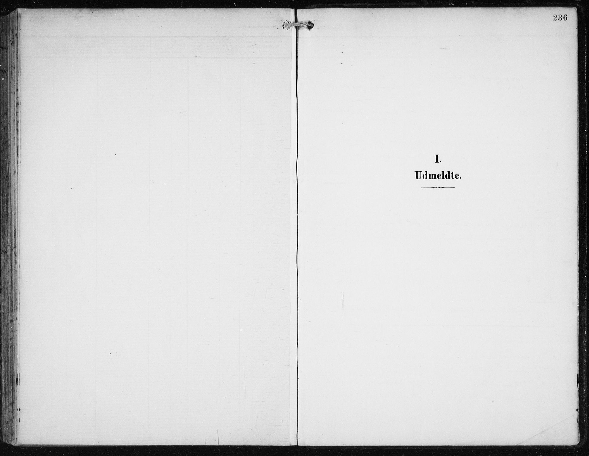 SAB, Birkeland Sokneprestembete, H/Haa: Ministerialbok nr. A 3, 1900-1912, s. 236