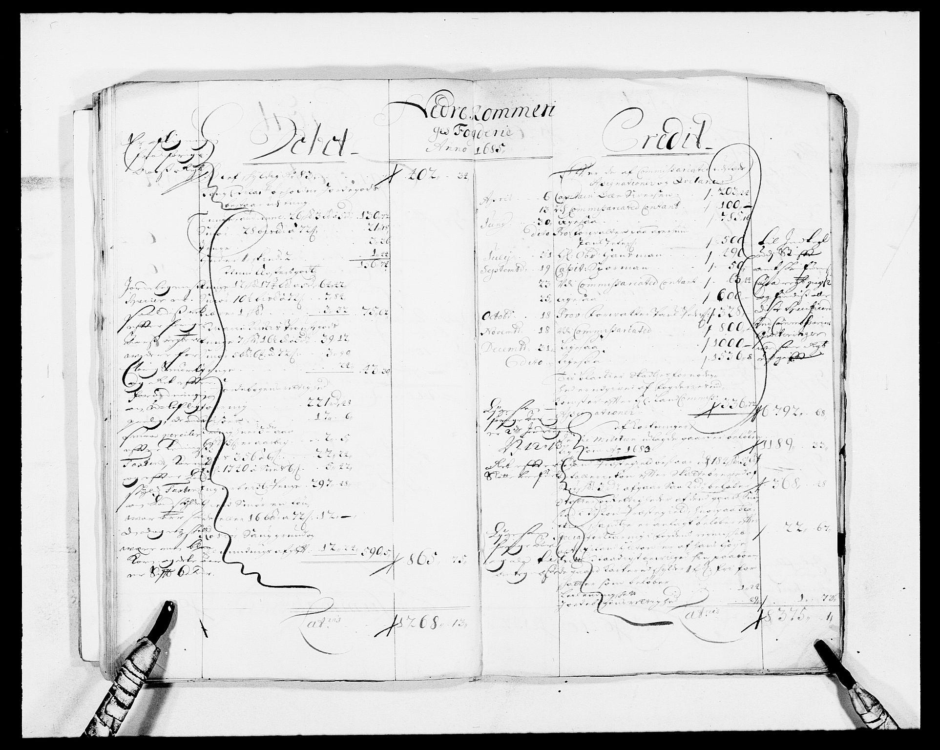 RA, Rentekammeret inntil 1814, Reviderte regnskaper, Fogderegnskap, R11/L0573: Fogderegnskap Nedre Romerike, 1679-1688, s. 168