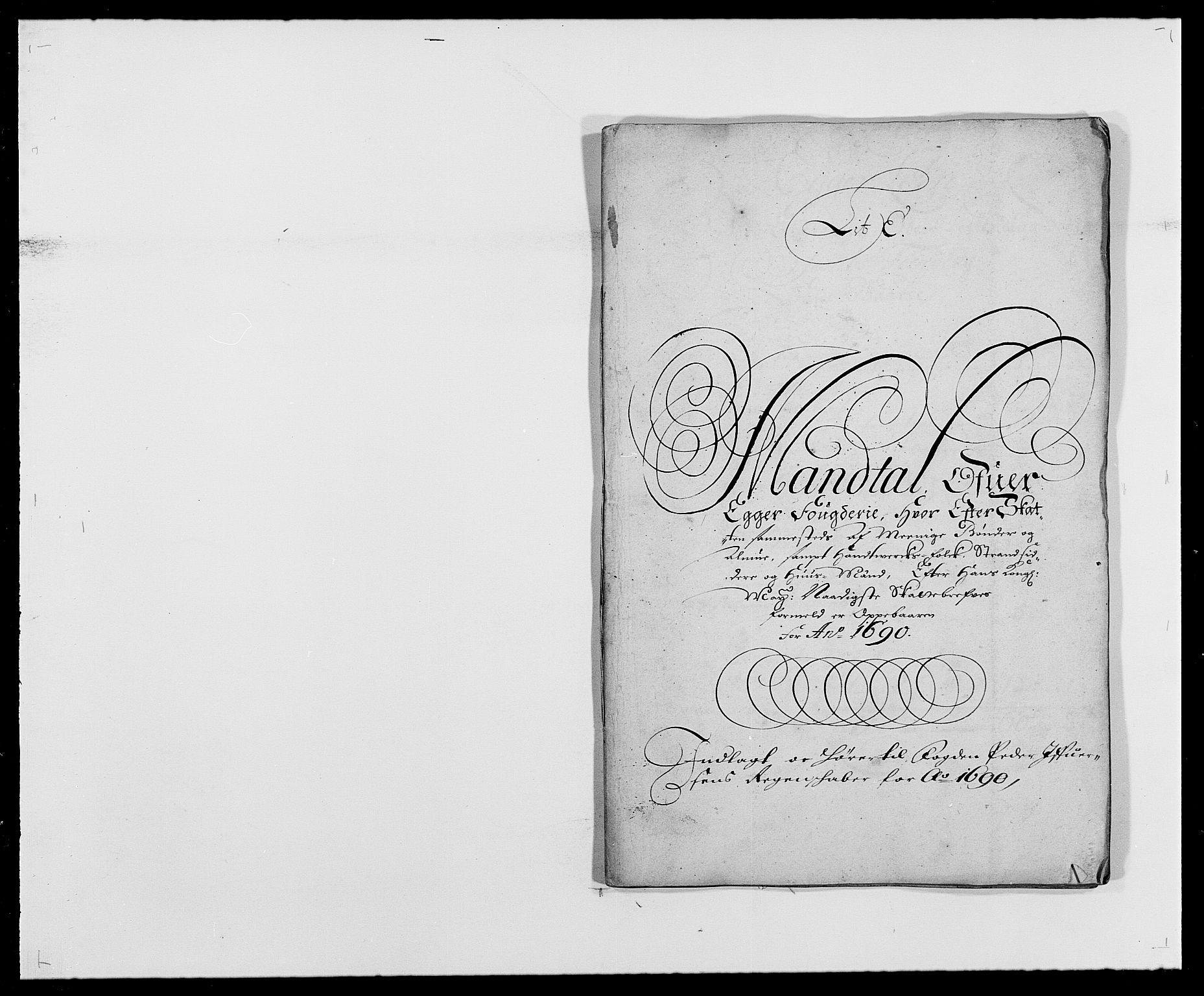 RA, Rentekammeret inntil 1814, Reviderte regnskaper, Fogderegnskap, R28/L1689: Fogderegnskap Eiker og Lier, 1690-1691, s. 44