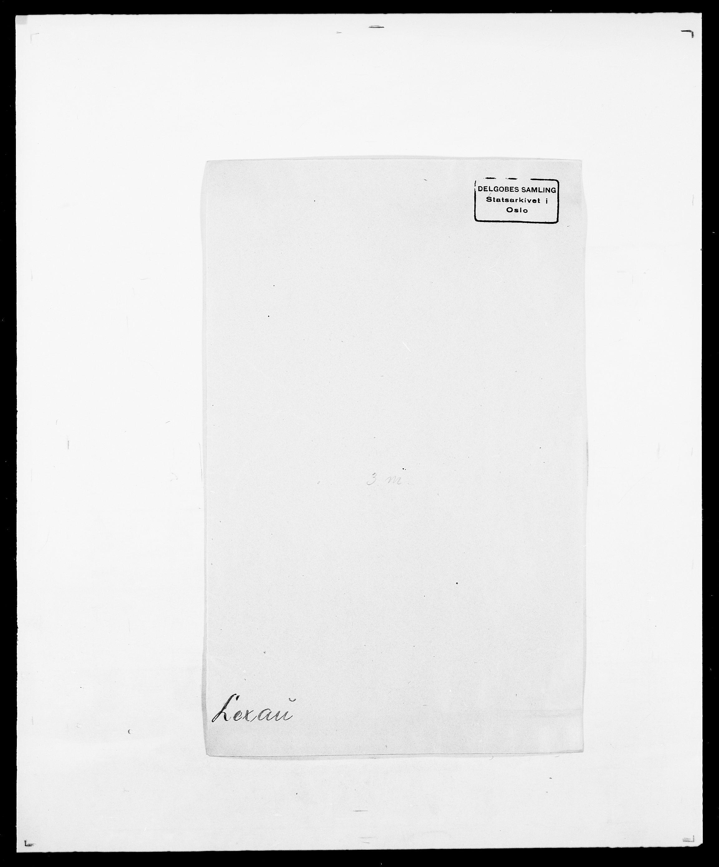 SAO, Delgobe, Charles Antoine - samling, D/Da/L0023: Lau - Lirvyn, s. 302