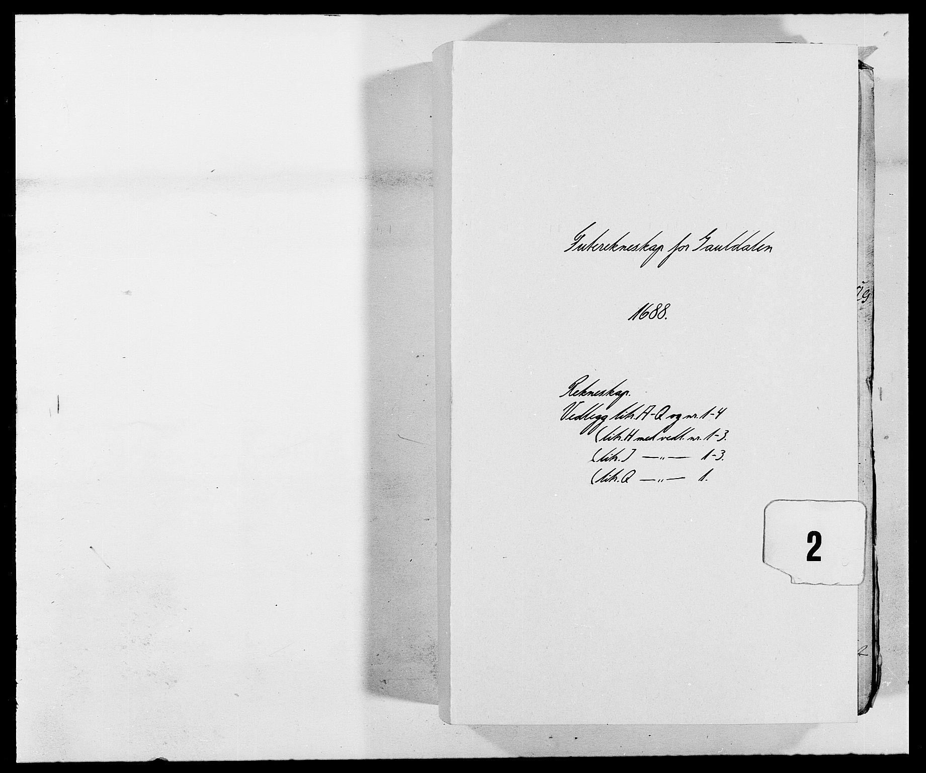 RA, Rentekammeret inntil 1814, Reviderte regnskaper, Fogderegnskap, R59/L3939: Fogderegnskap Gauldal, 1687-1688, s. 121