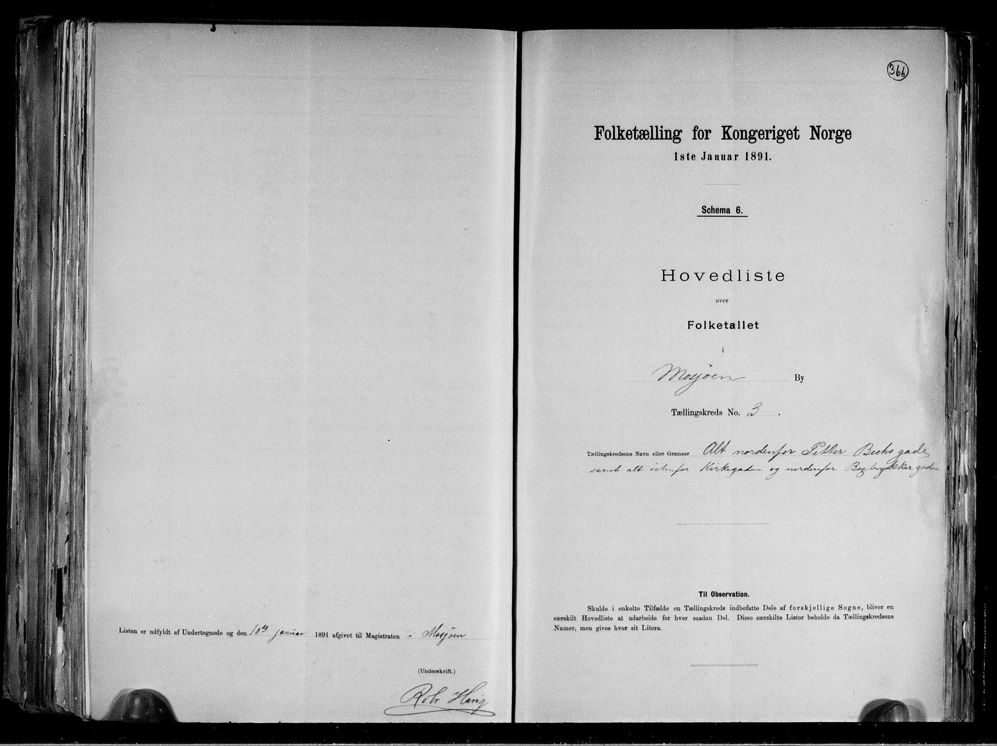 RA, Folketelling 1891 for 1802 Mosjøen ladested, 1891, s. 8