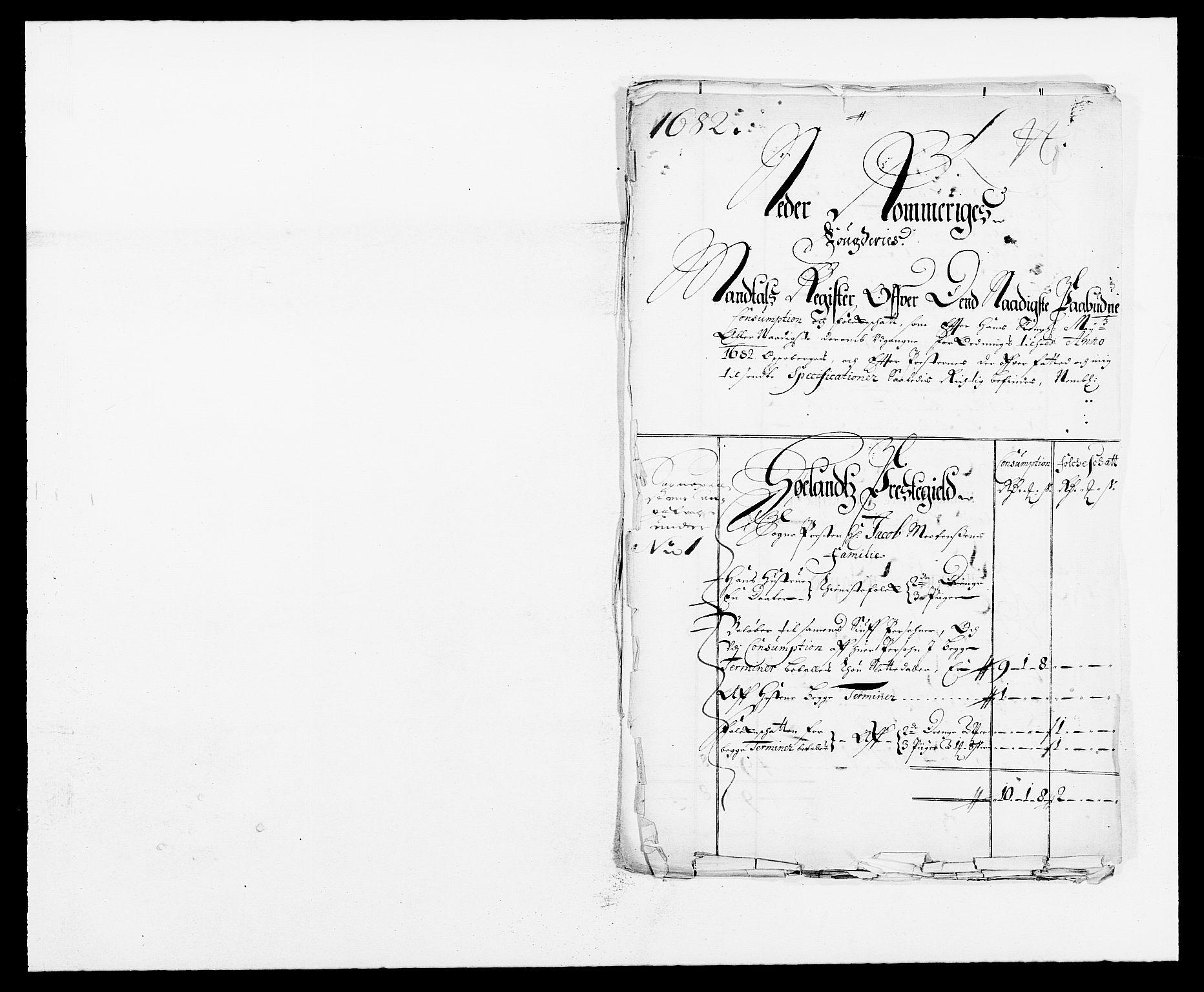RA, Rentekammeret inntil 1814, Reviderte regnskaper, Fogderegnskap, R11/L0570: Fogderegnskap Nedre Romerike, 1682, s. 208