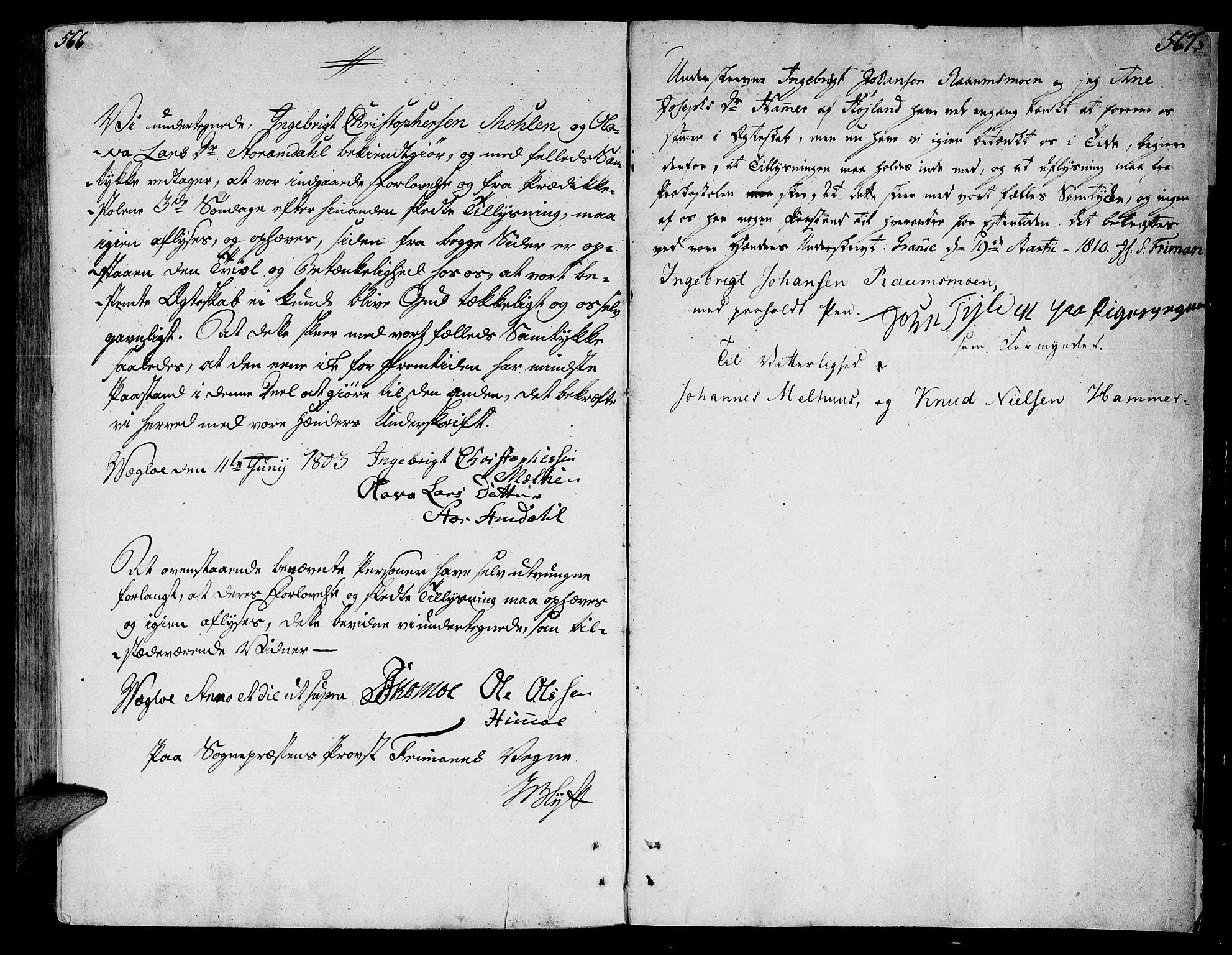 SAT, Ministerialprotokoller, klokkerbøker og fødselsregistre - Nord-Trøndelag, 764/L0545: Ministerialbok nr. 764A05, 1799-1816, s. 566-567