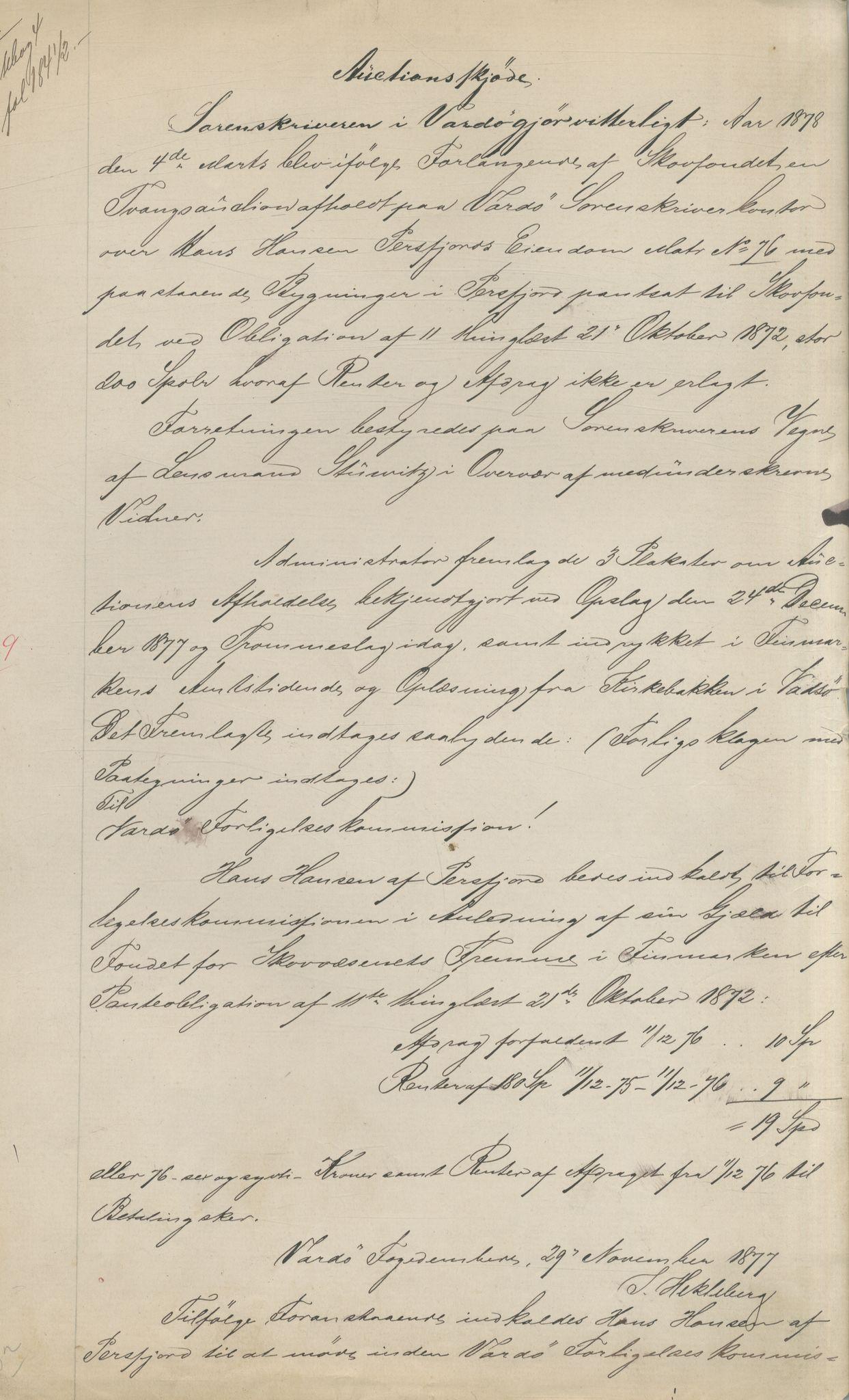 VAMU, Brodtkorb handel A/S, Q/Qb/L0003: Faste eiendommer i Vardø Herred, 1862-1939, s. 99