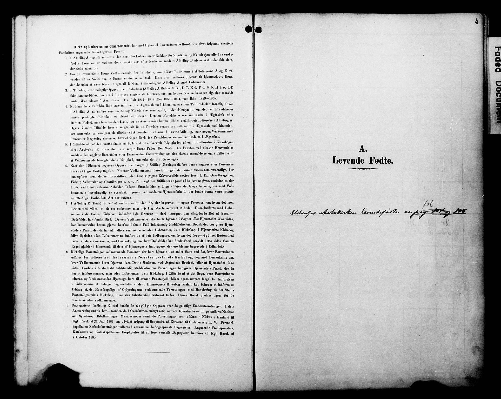 SATØ, Alta sokneprestembete, Ministerialbok nr. 3, 1892-1904, s. 4
