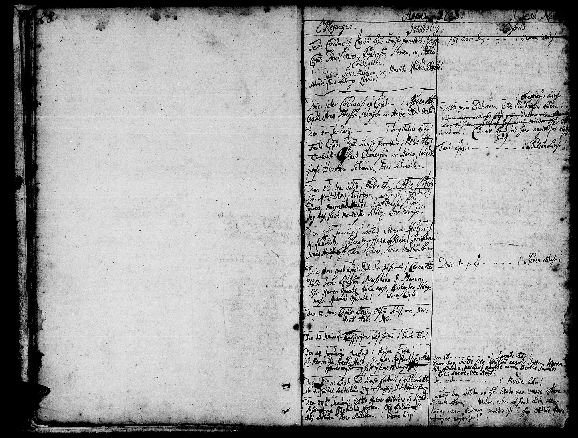 SAT, Ministerialprotokoller, klokkerbøker og fødselsregistre - Møre og Romsdal, 547/L0599: Ministerialbok nr. 547A01, 1721-1764, s. 28-29