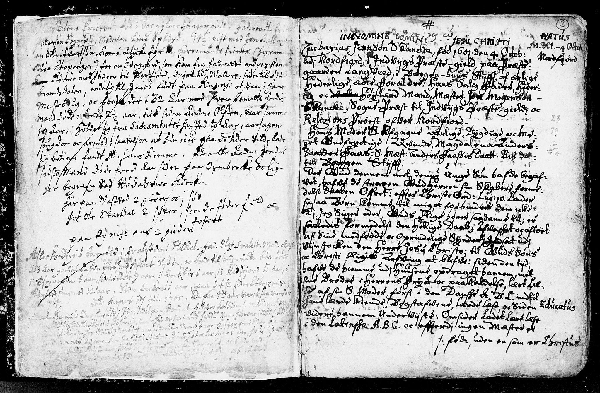 SAKO, Seljord kirkebøker, F/Fa/L0001: Ministerialbok nr. I 1, 1654-1686, s. 2