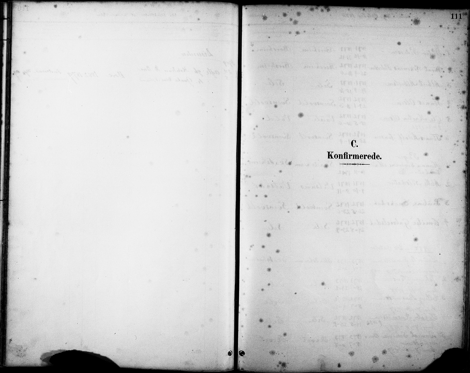 SAST, Klepp sokneprestkontor, 30BA/L0008: Ministerialbok nr. A 9, 1886-1919, s. 111