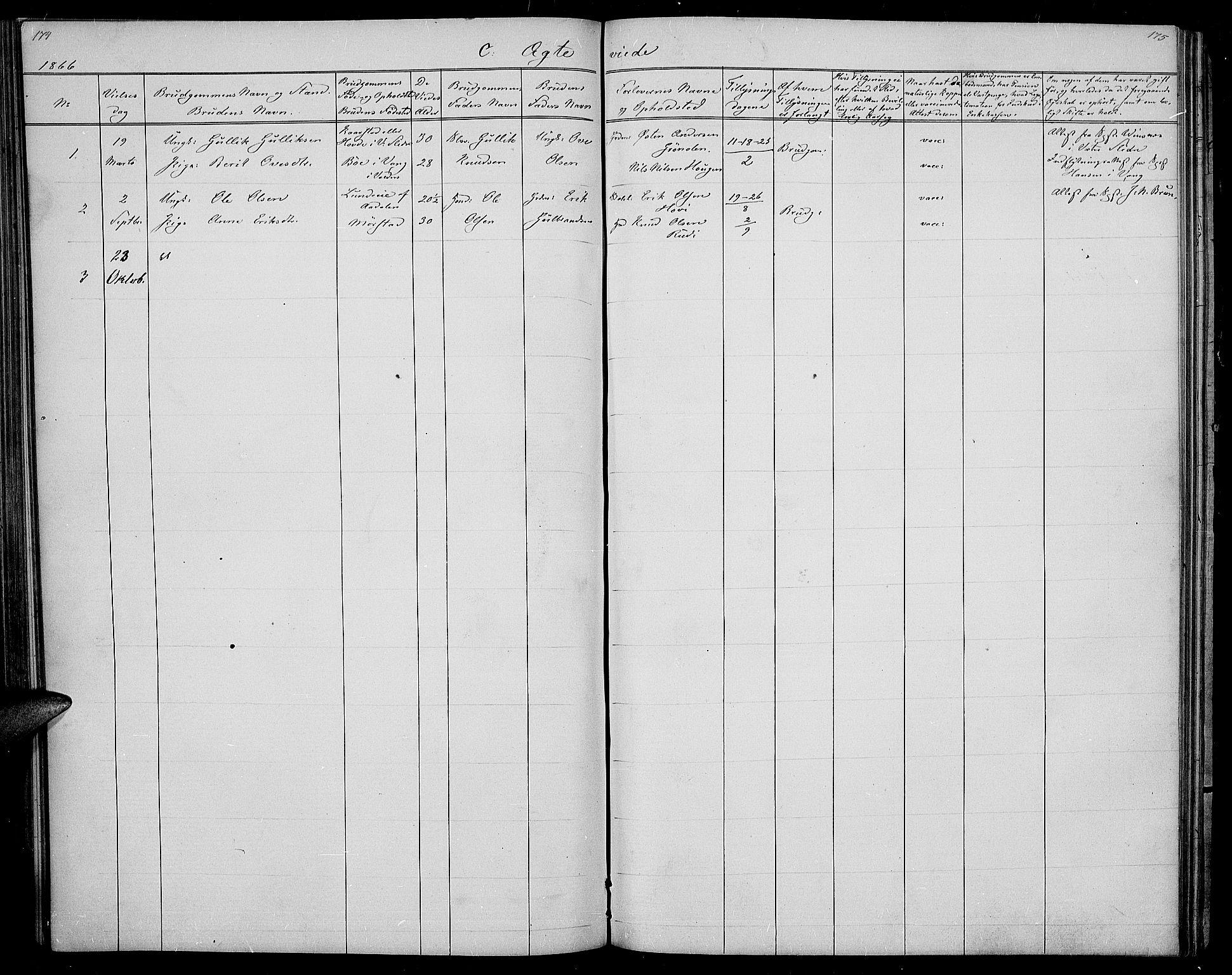 SAH, Øystre Slidre prestekontor, Klokkerbok nr. 1, 1866-1886, s. 177-178