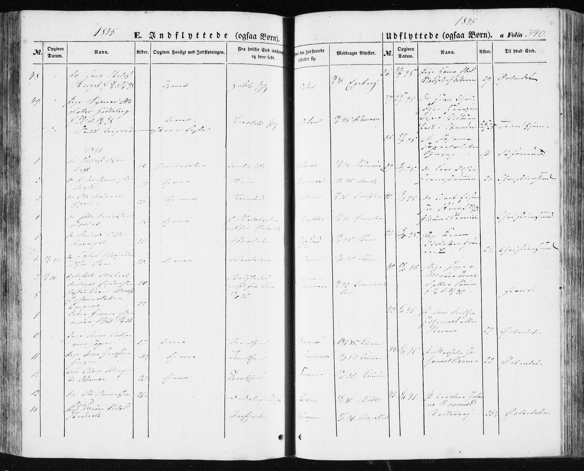 SAT, Ministerialprotokoller, klokkerbøker og fødselsregistre - Sør-Trøndelag, 634/L0529: Ministerialbok nr. 634A05, 1843-1851, s. 340