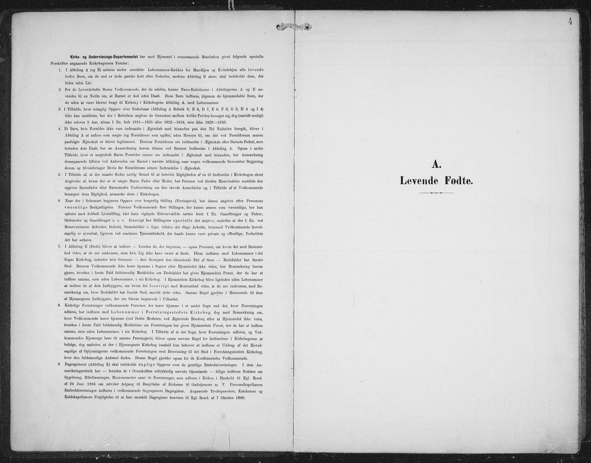 SAT, Ministerialprotokoller, klokkerbøker og fødselsregistre - Nord-Trøndelag, 701/L0011: Ministerialbok nr. 701A11, 1899-1915, s. 4