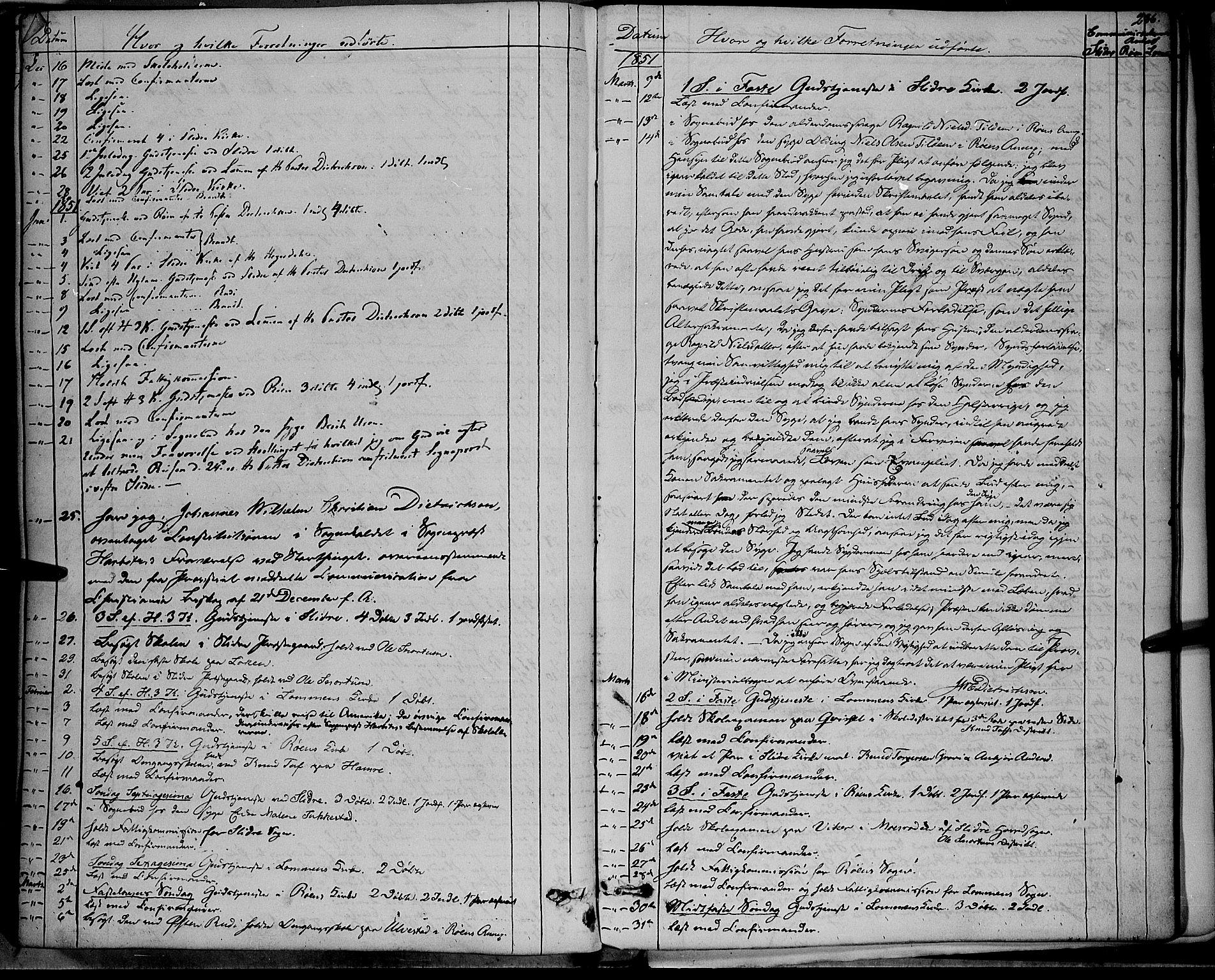 SAH, Vestre Slidre prestekontor, Ministerialbok nr. 1, 1844-1855, s. 286