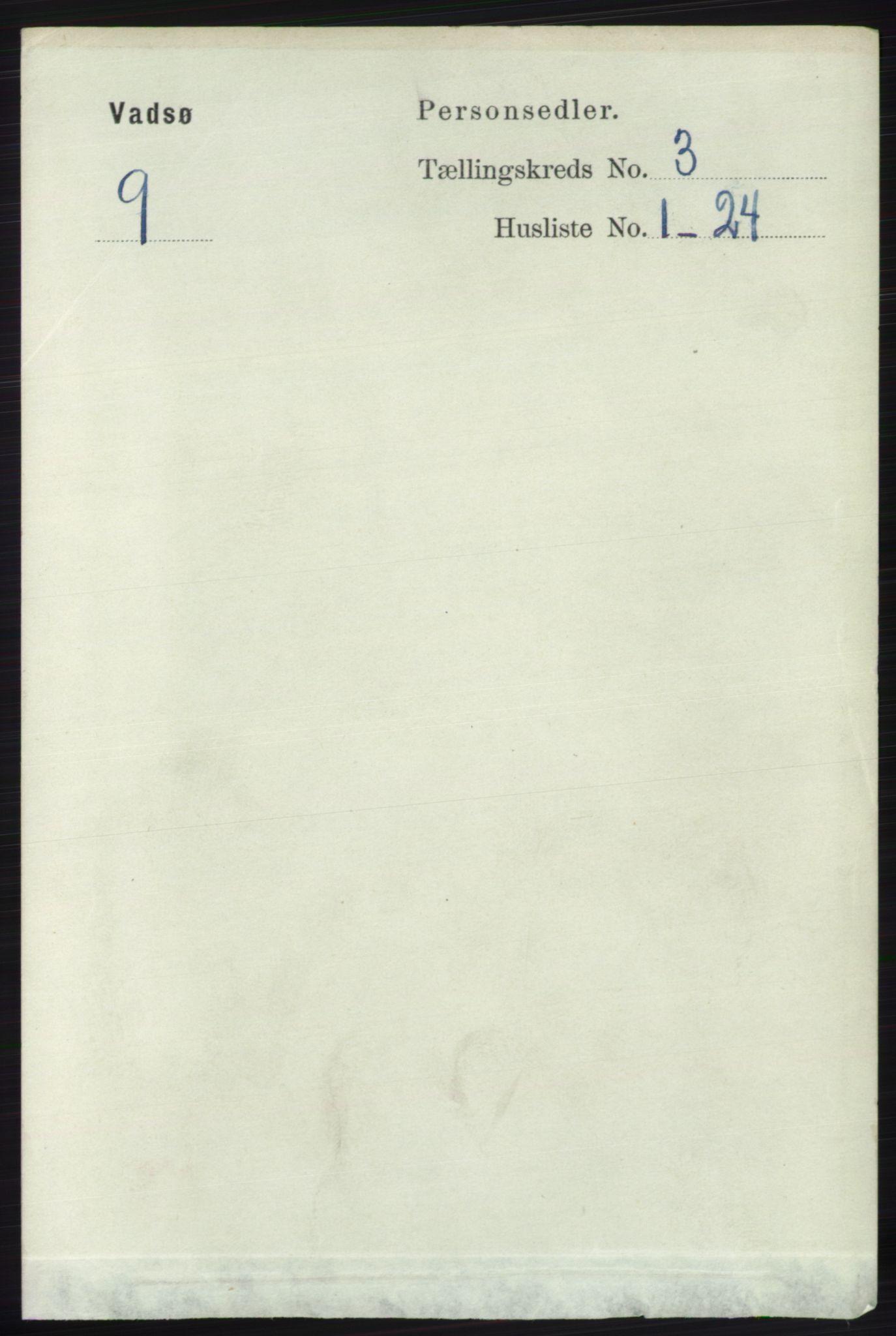 RA, Folketelling 1891 for 2003 Vadsø kjøpstad, 1891, s. 1774