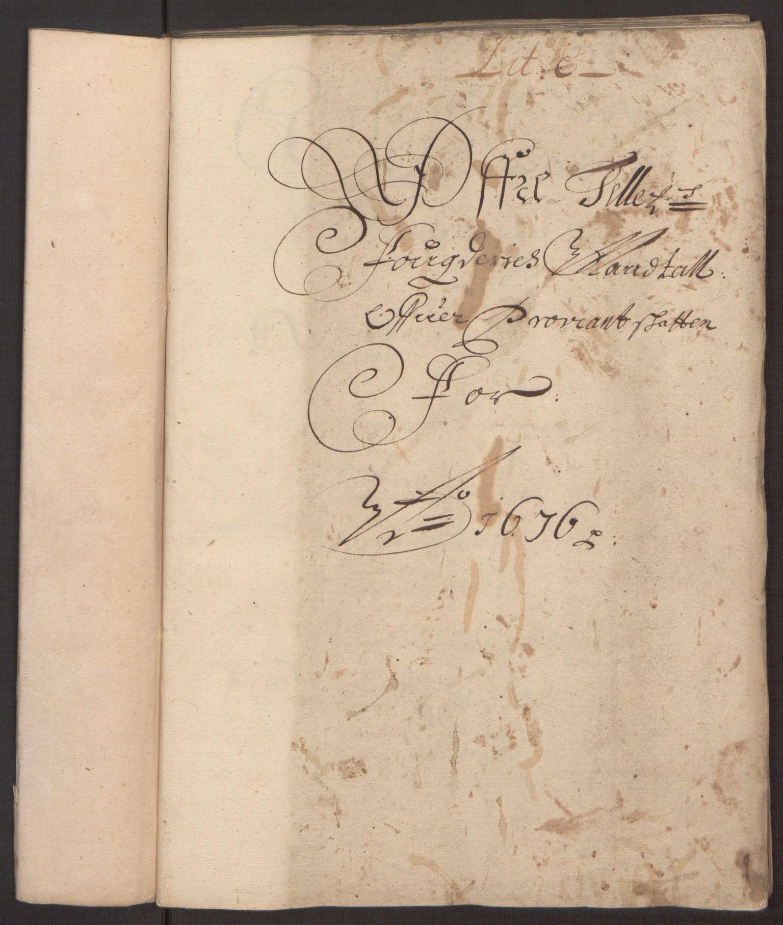 RA, Rentekammeret inntil 1814, Reviderte regnskaper, Fogderegnskap, R35/L2065: Fogderegnskap Øvre og Nedre Telemark, 1676, s. 85