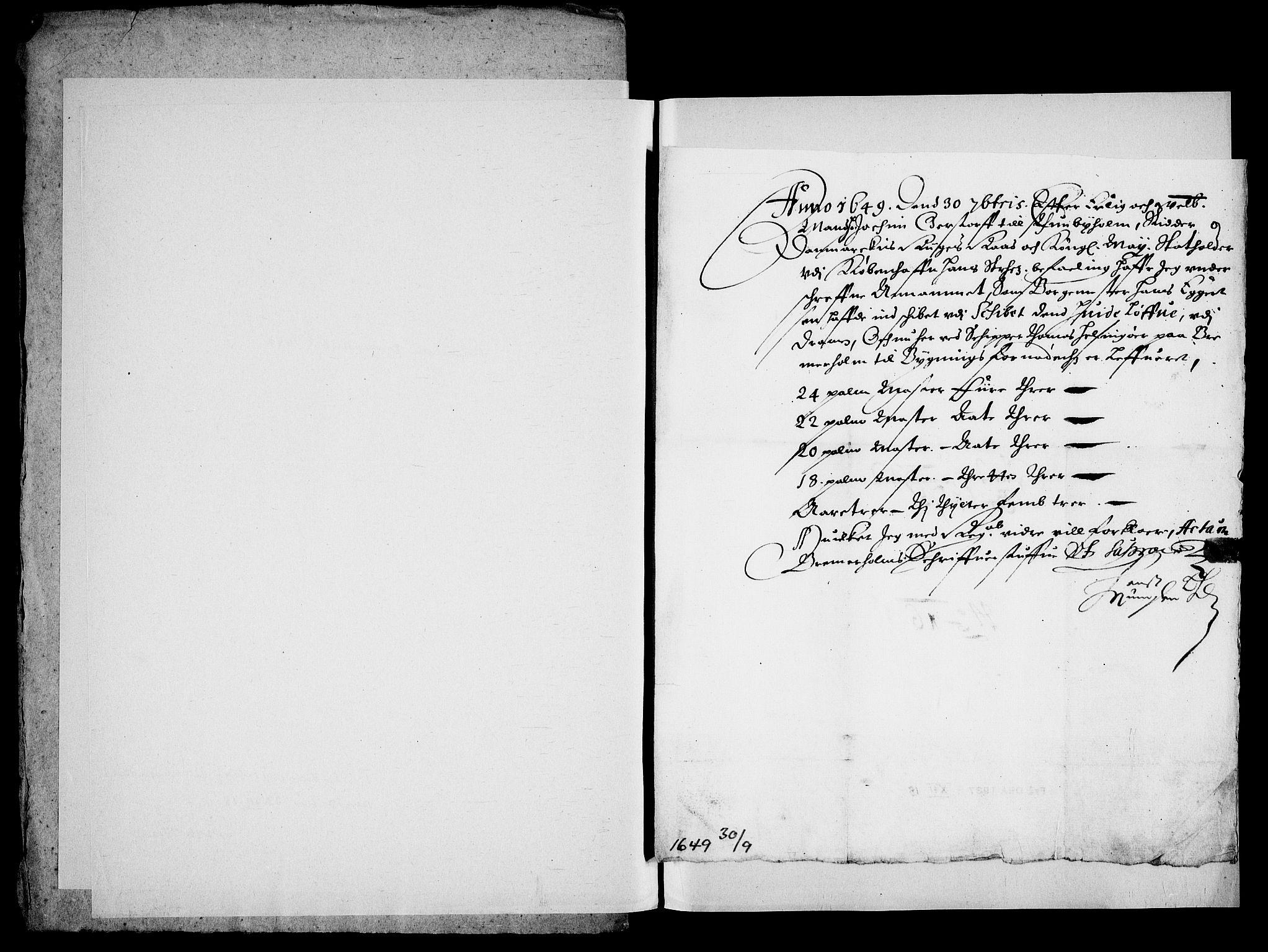 RA, Danske Kanselli, Skapsaker, G/L0019: Tillegg til skapsakene, 1616-1753, s. 136