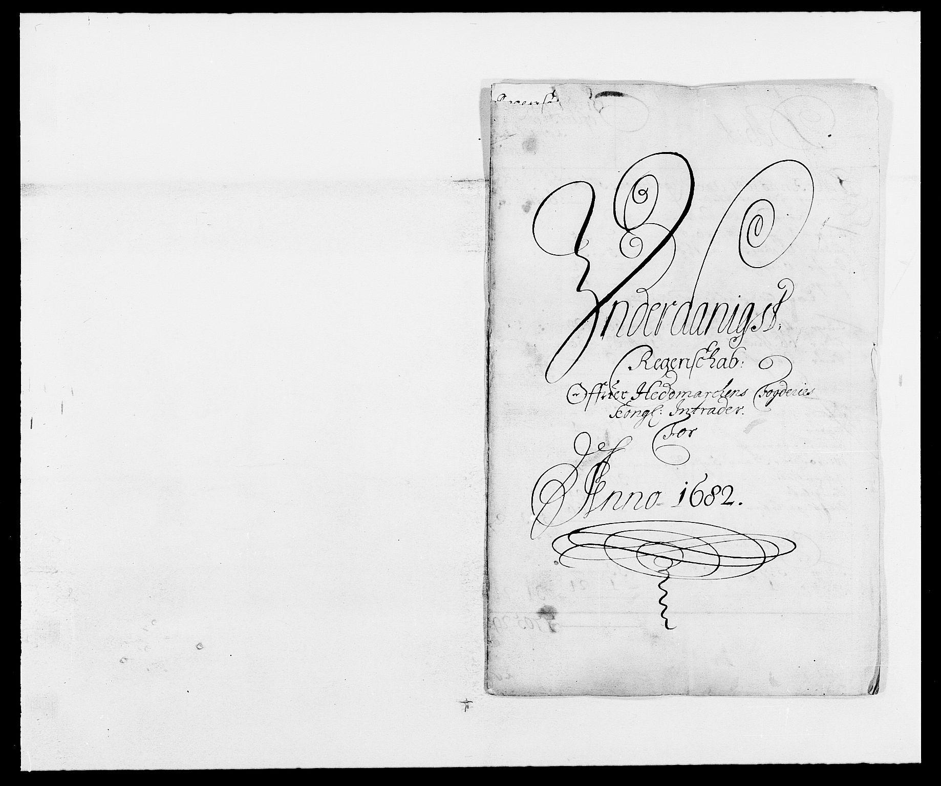 RA, Rentekammeret inntil 1814, Reviderte regnskaper, Fogderegnskap, R16/L1022: Fogderegnskap Hedmark, 1682, s. 1